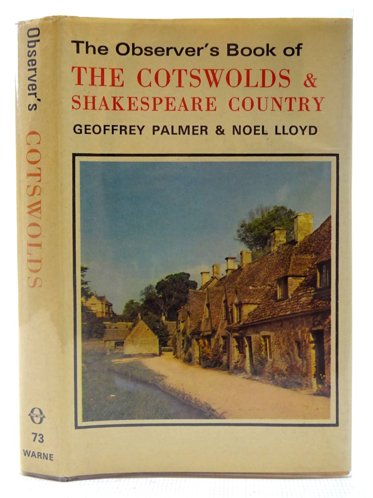 Photo of THE OBSERVER'S BOOK OF THE COTSWOLDS AND SHAKESPEARE COUNTRY written by Palmer, Geoffrey<br />Lloyd, Noel published by Frederick Warne (STOCK CODE: 2127179)  for sale by Stella & Rose's Books