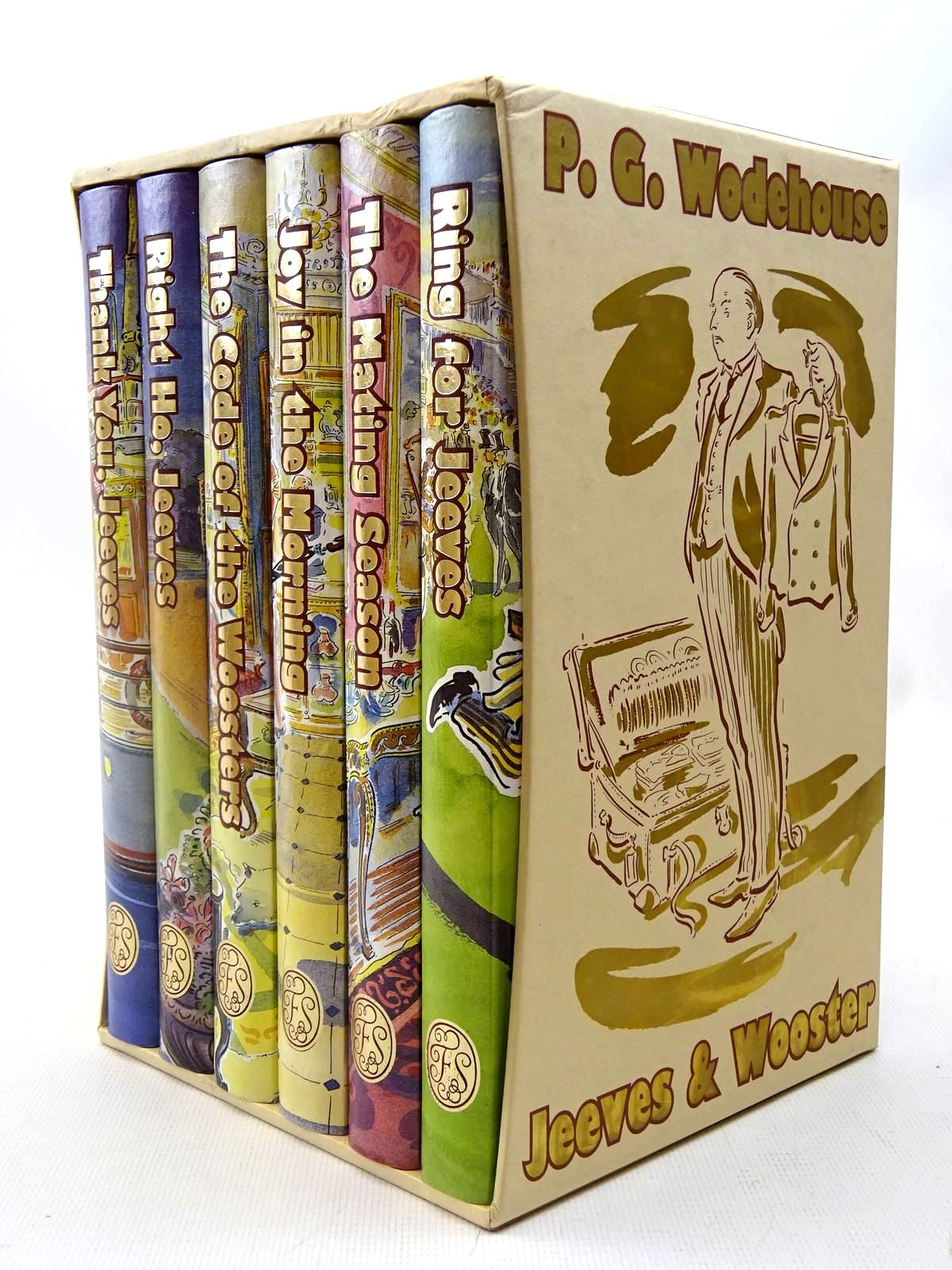 Photo of JEEVES & WOOSTER (6 VOLUMES)