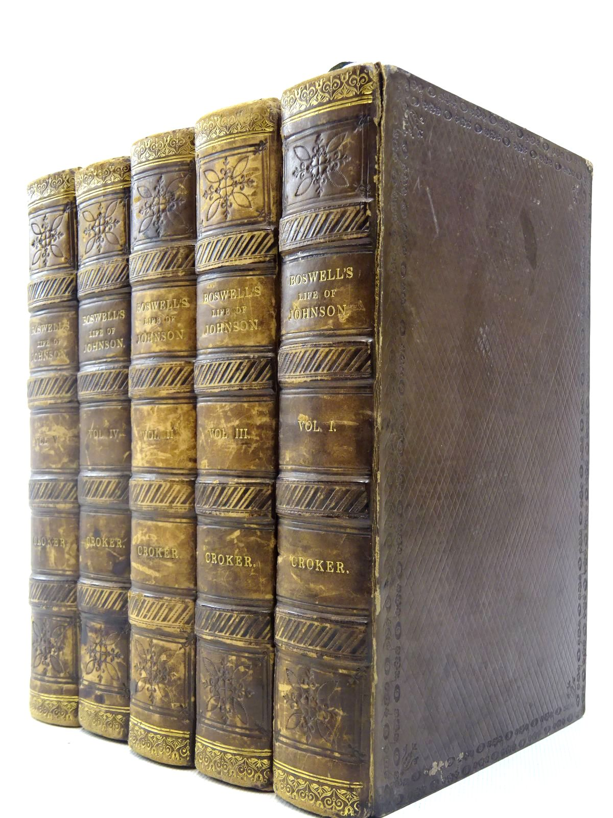 Photo of THE LIFE OF SAMUEL JOHNSON, LL. D. (5 VOLUMES) written by Boswell, James<br />Croker, John Wilson published by John Murray (STOCK CODE: 2127234)  for sale by Stella & Rose's Books