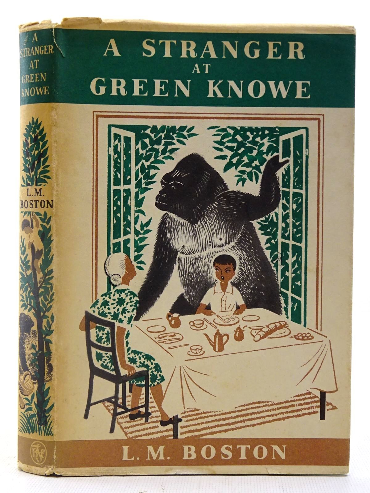 Photo of A STRANGER AT GREEN KNOWE written by Boston, Lucy M. illustrated by Boston, Peter published by The Children's Book Club (STOCK CODE: 2127237)  for sale by Stella & Rose's Books