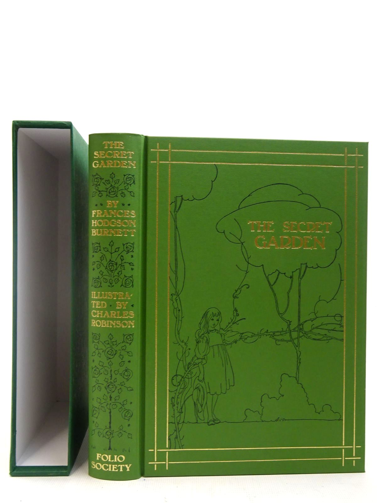 Photo of THE SECRET GARDEN written by Burnett, Frances Hodgson illustrated by Robinson, Charles published by Folio Society (STOCK CODE: 2127245)  for sale by Stella & Rose's Books