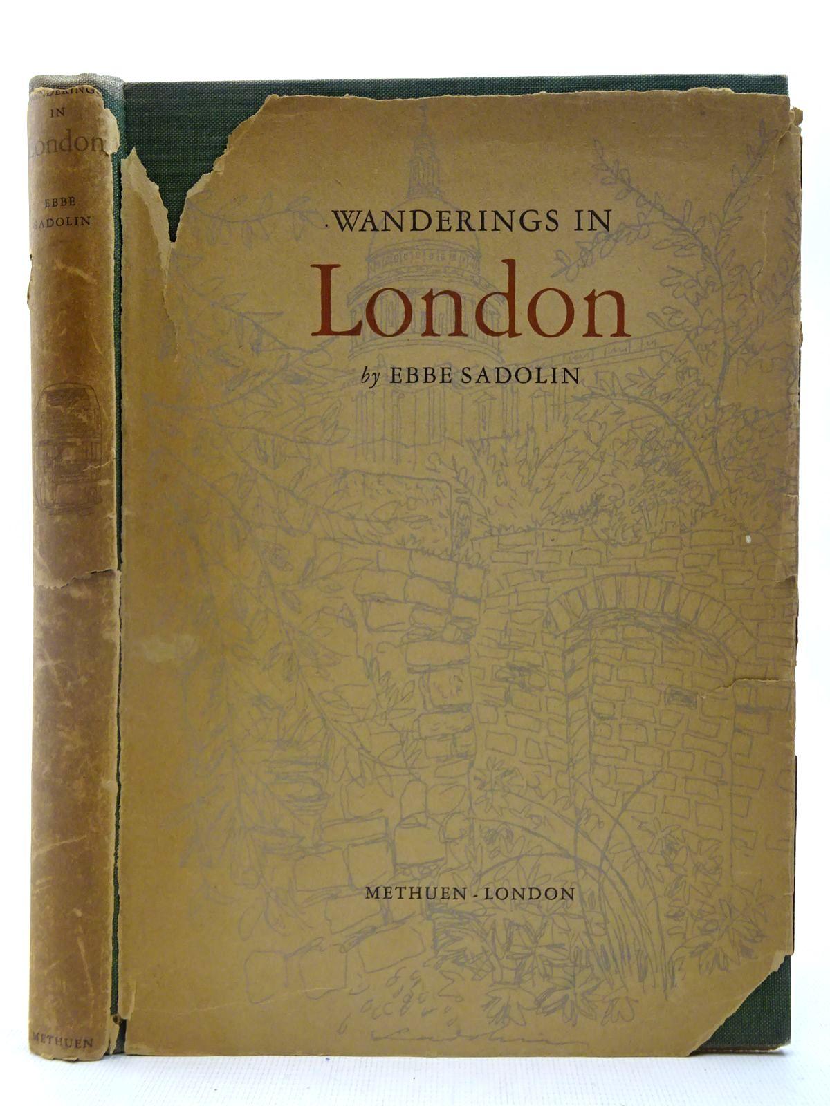 Photo of WANDERINGS IN LONDON