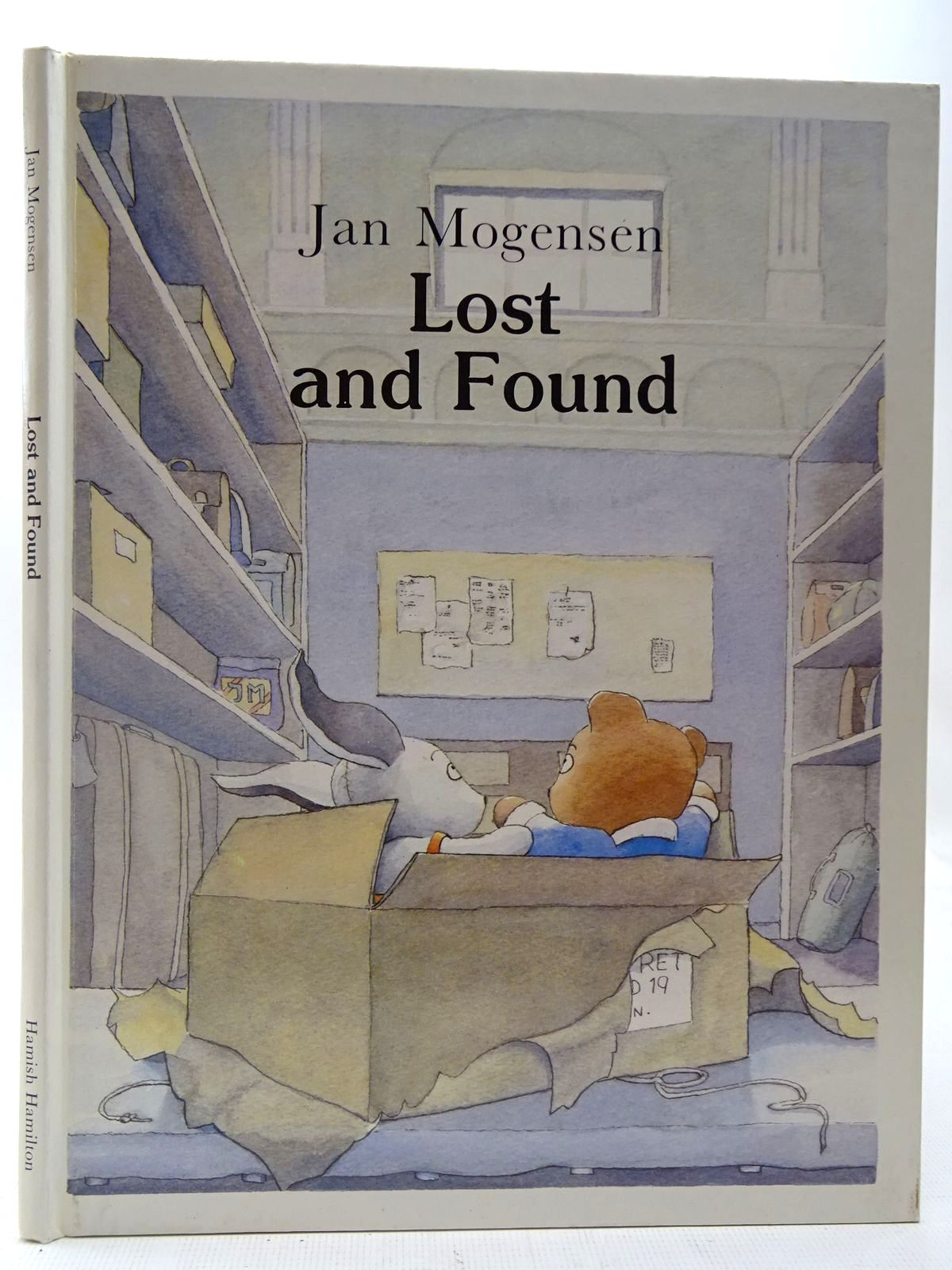 Photo of LOST AND FOUND written by Mogensen, Jan illustrated by Mogensen, Jan published by Hamish Hamilton Childrens Books (STOCK CODE: 2127250)  for sale by Stella & Rose's Books