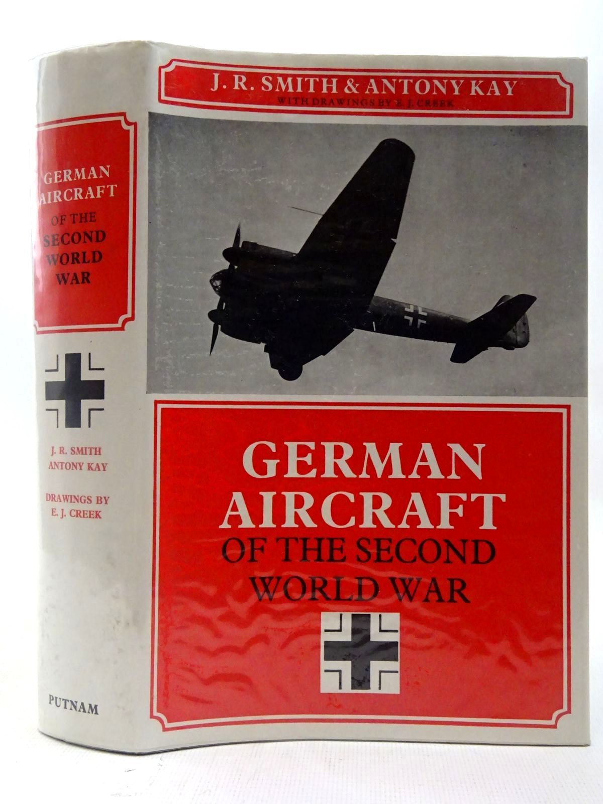 Photo of GERMAN AIRCRAFT OF THE SECOND WORLD WAR written by Smith, J.R.<br />Kay, Antony L. published by Putnam (STOCK CODE: 2127266)  for sale by Stella & Rose's Books