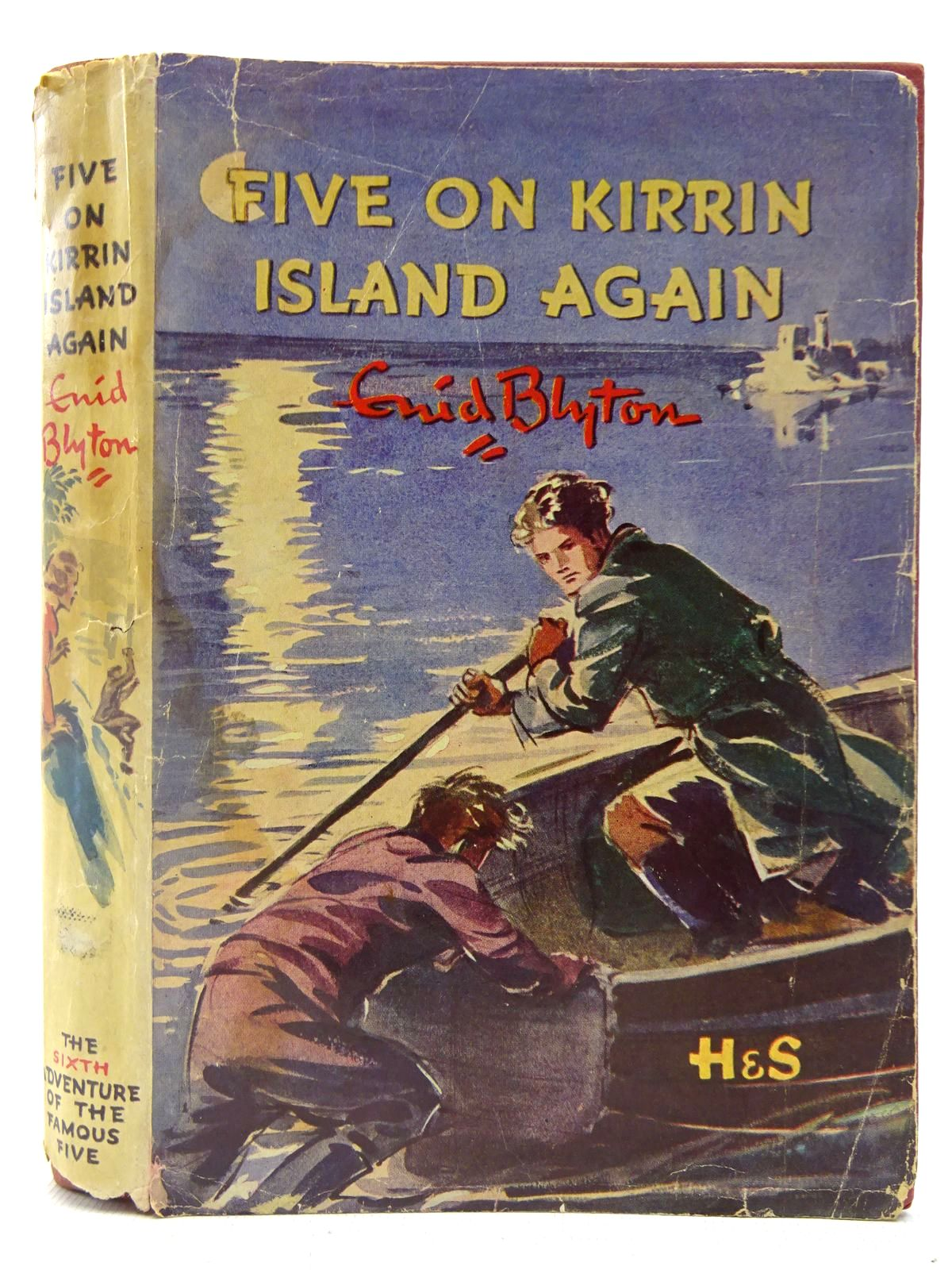 Photo of FIVE ON KIRRIN ISLAND AGAIN written by Blyton, Enid illustrated by Soper, Eileen published by Hodder & Stoughton (STOCK CODE: 2127284)  for sale by Stella & Rose's Books