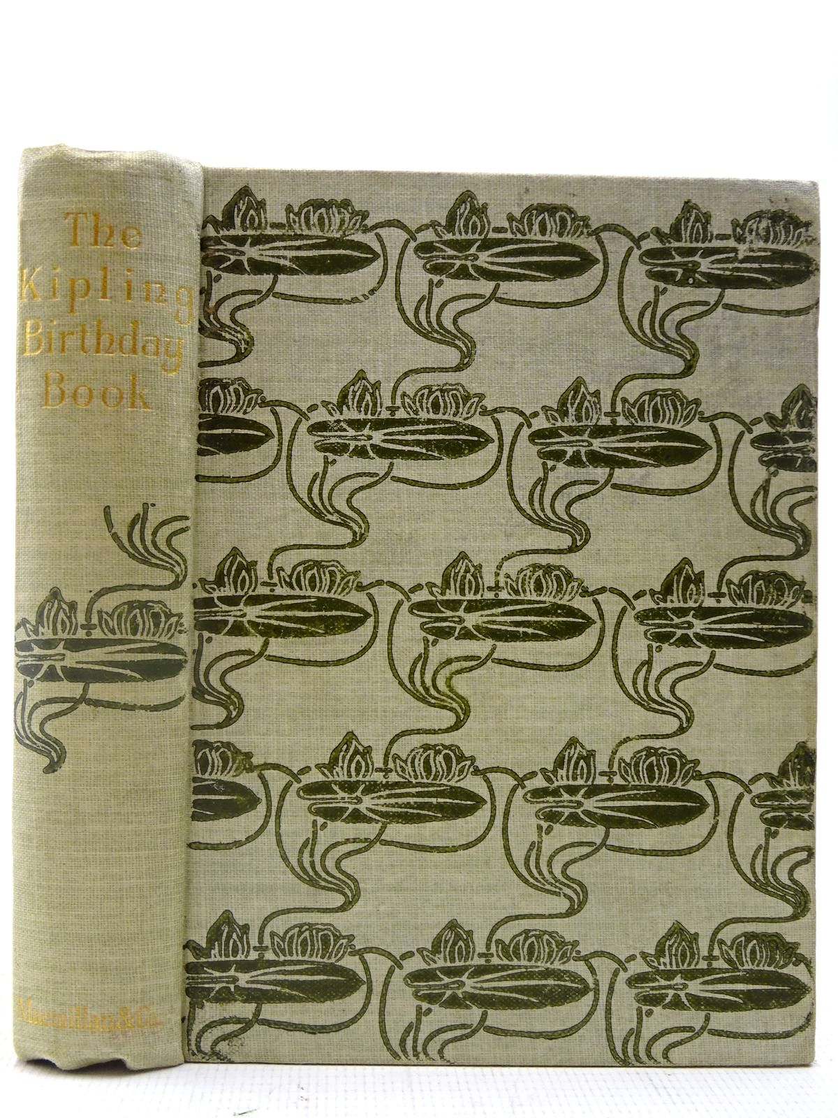 Photo of THE KIPLING BIRTHDAY BOOK written by Kipling, Rudyard<br />Finn, Joseph published by Macmillan & Co. Ltd. (STOCK CODE: 2127320)  for sale by Stella & Rose's Books