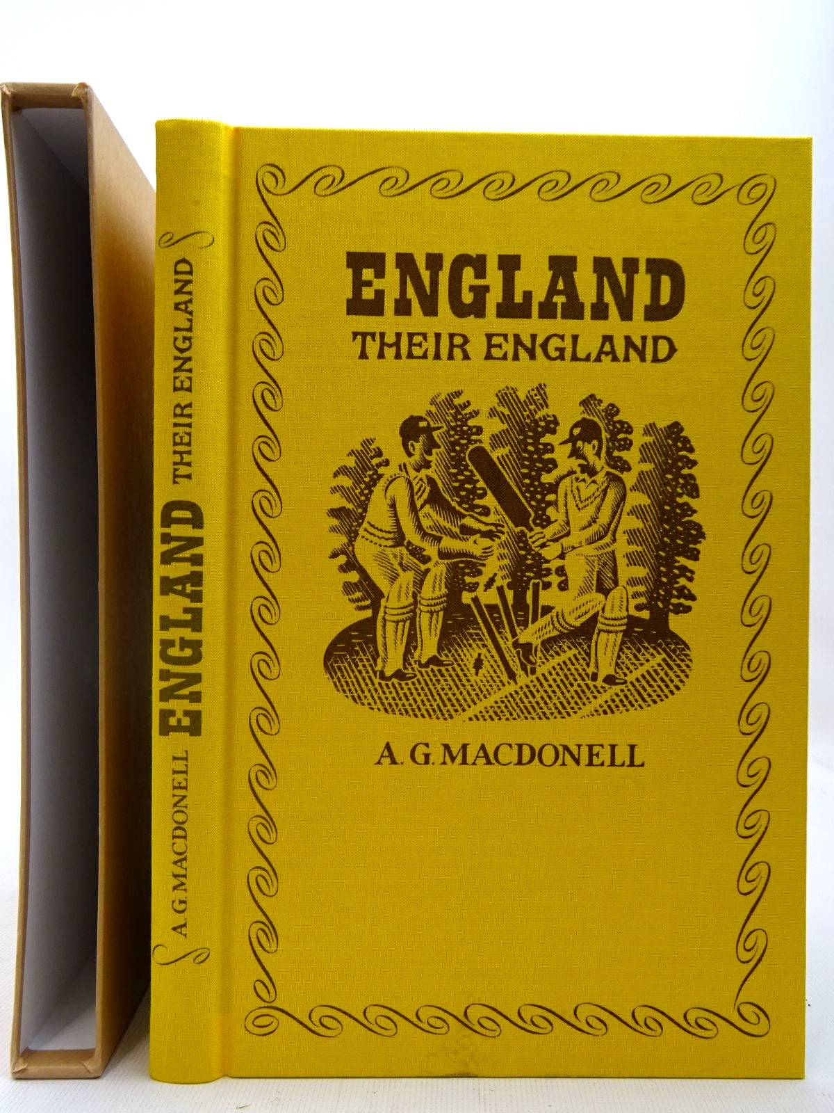 Photo of ENGLAND THEIR ENGLAND written by MacDonell, A.G. illustrated by Brookes, Peter published by Folio Society (STOCK CODE: 2127330)  for sale by Stella & Rose's Books