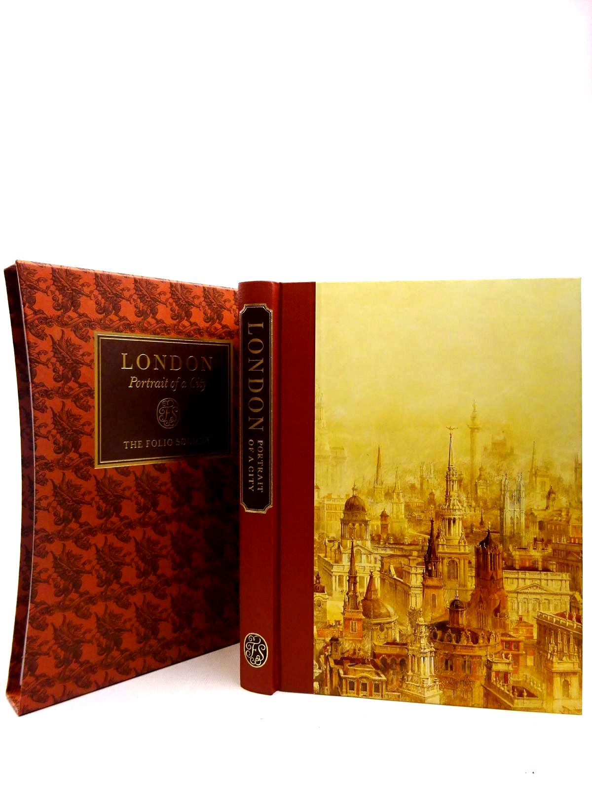 Photo of LONDON PORTRAIT OF A CITY written by Hudson, Roger published by Folio Society (STOCK CODE: 2127331)  for sale by Stella & Rose's Books