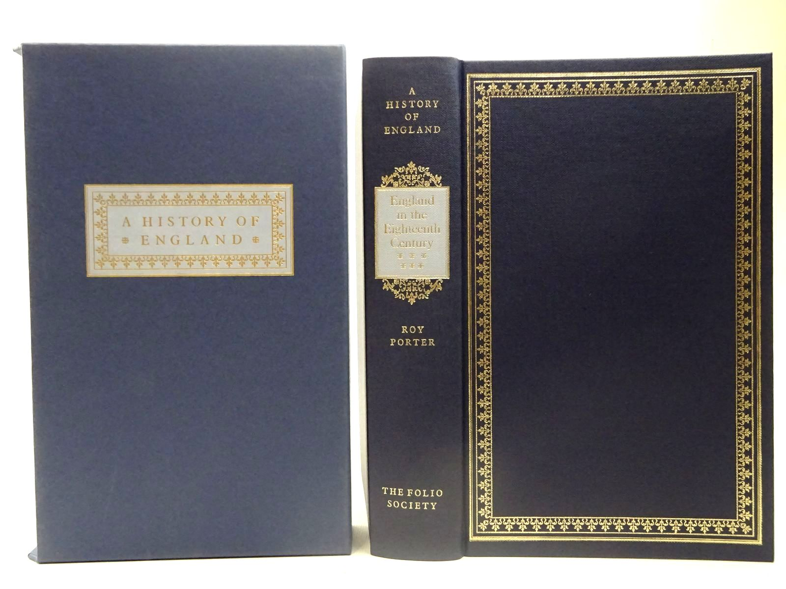 Photo of ENGLAND IN THE EIGHTEENTH CENTURY written by Porter, Roy published by Folio Society (STOCK CODE: 2127351)  for sale by Stella & Rose's Books