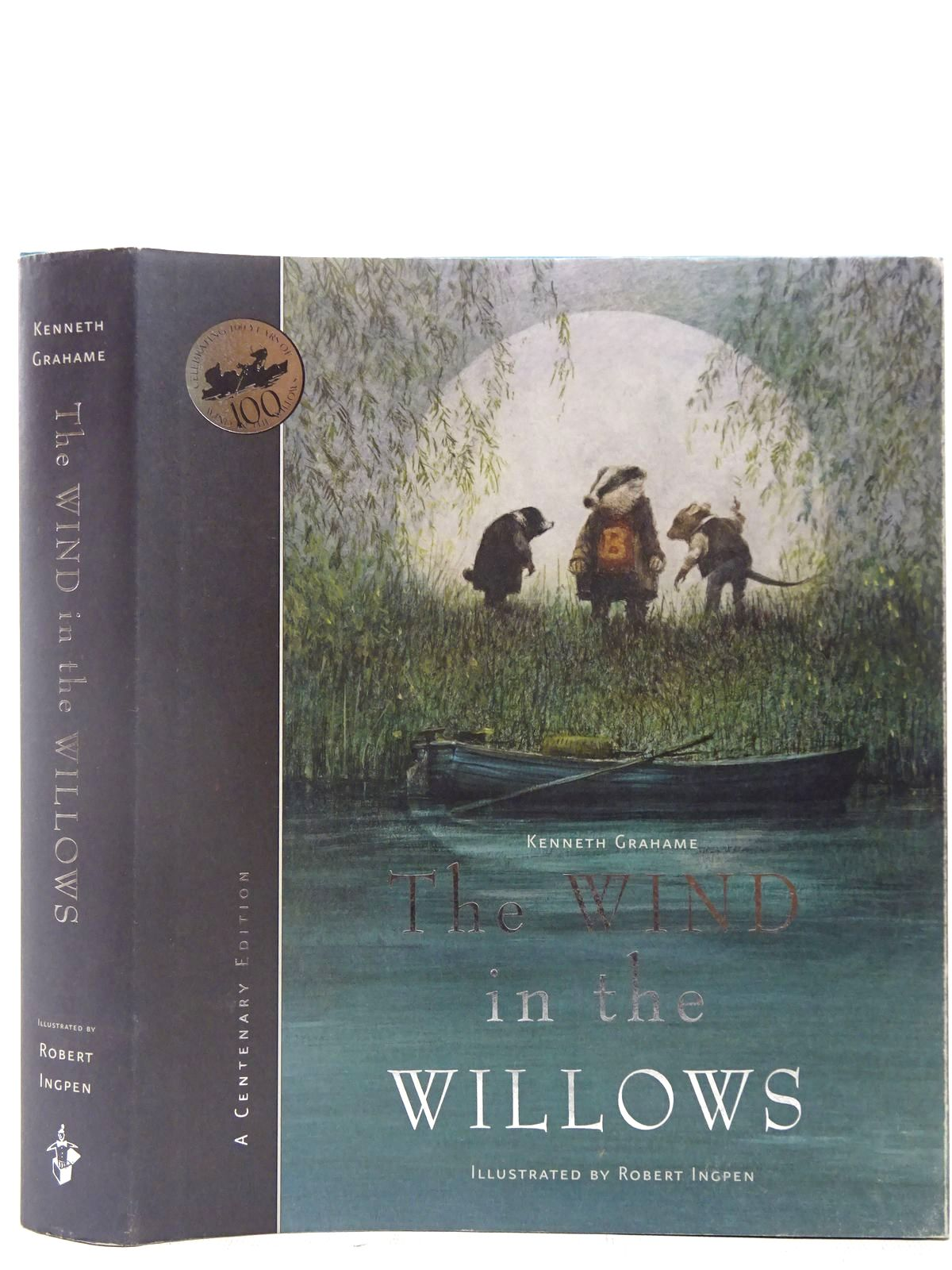 Photo of THE WIND IN THE WILLOWS written by Grahame, Kenneth illustrated by Ingpen, Robert published by Templar Publishing (STOCK CODE: 2127367)  for sale by Stella & Rose's Books