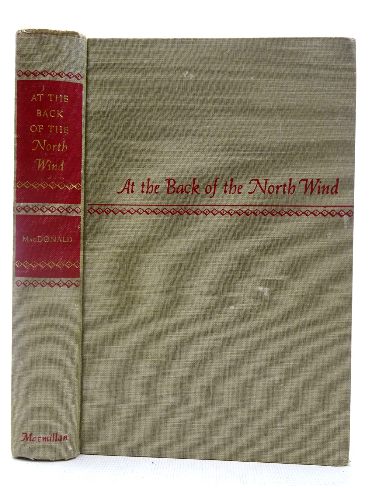Photo of AT THE BACK OF THE NORTH WIND written by MacDonald, George illustrated by Hauman, Doris<br />Hauman, George published by The Macmillan Co. (STOCK CODE: 2127387)  for sale by Stella & Rose's Books