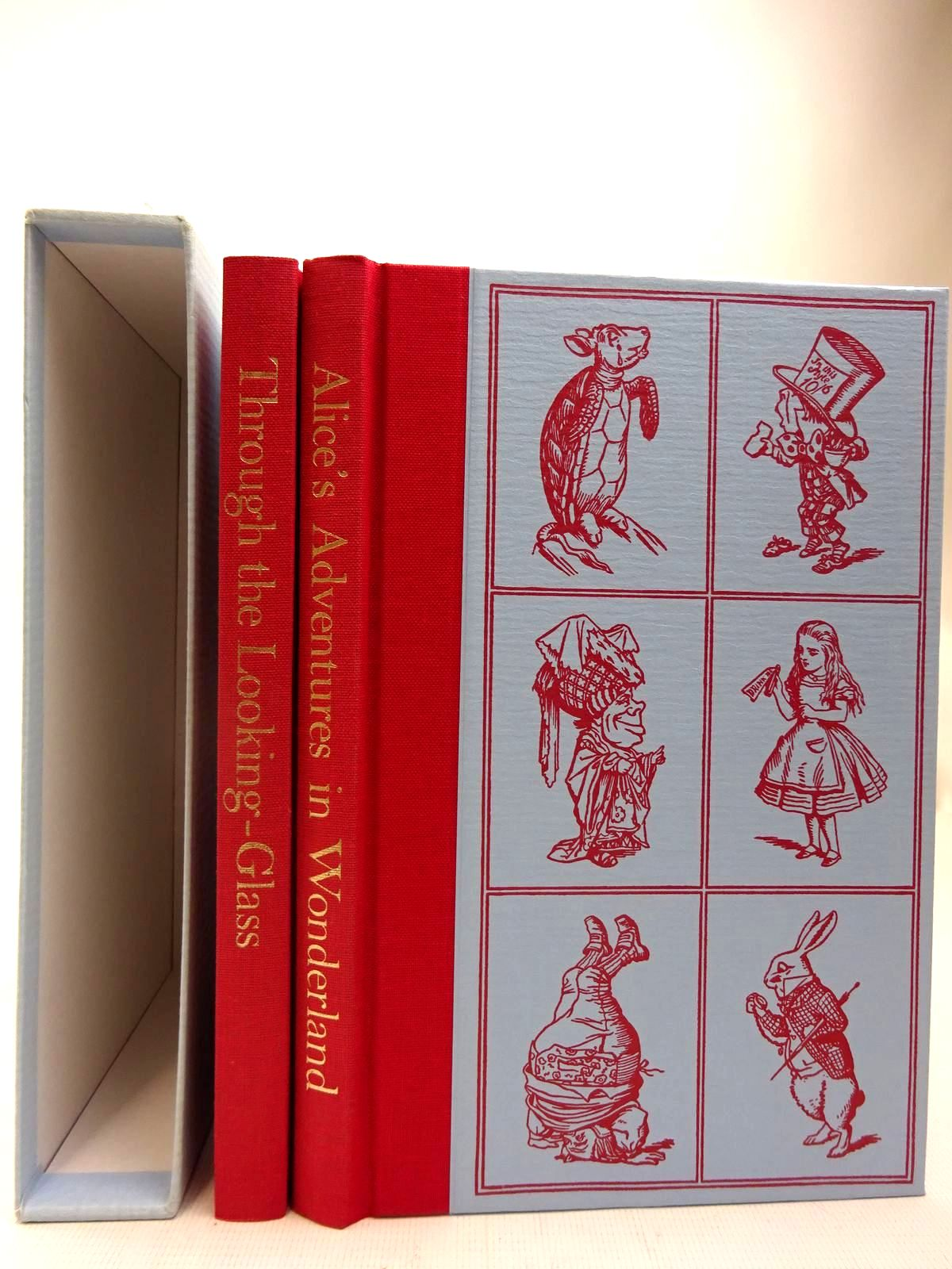 Photo of ALICE'S ADVENTURES IN WONDERLAND AND THROUGH THE LOOKING GLASS written by Carroll, Lewis illustrated by Tenniel, John published by Folio Society (STOCK CODE: 2127401)  for sale by Stella & Rose's Books