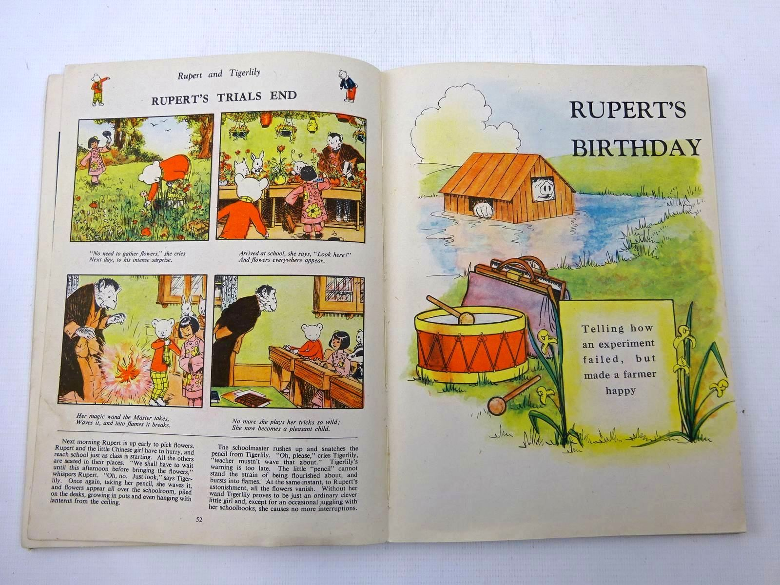 Photo of RUPERT ANNUAL 1943 - MORE RUPERT ADVENTURES written by Bestall, Alfred illustrated by Bestall, Alfred published by Daily Express (STOCK CODE: 2127420)  for sale by Stella & Rose's Books