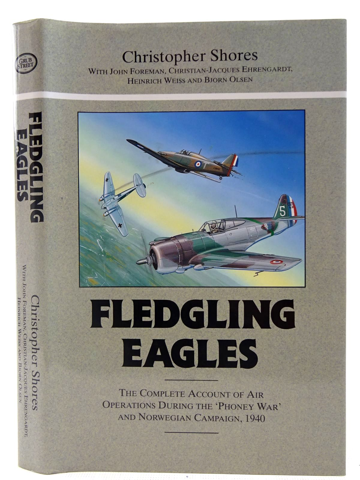 Photo of FLEDGLING EAGLES written by Shores, Christopher<br />Foreman, John<br />Ehrengardt, C.J.<br />Weiss, Heinrich<br />Olsen, Bjorn published by Grub Street (STOCK CODE: 2127426)  for sale by Stella & Rose's Books