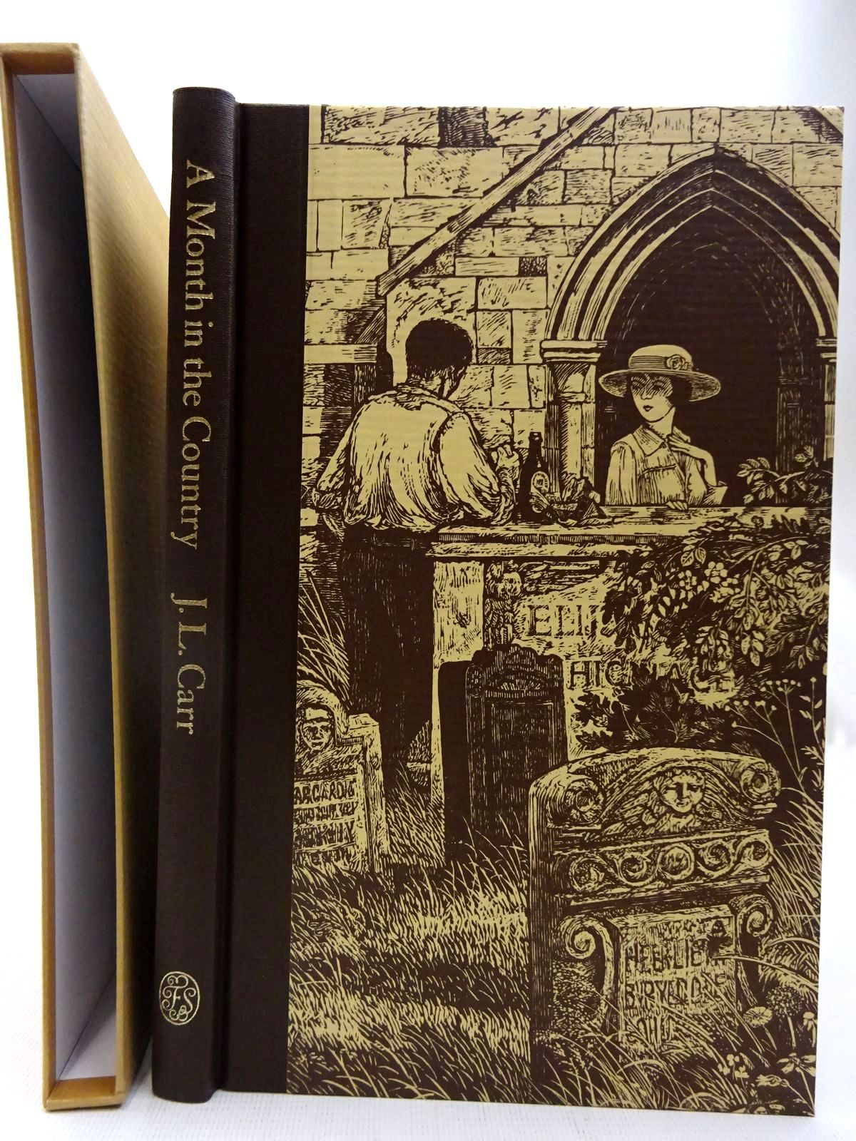 Photo of A MONTH IN THE COUNTRY written by Carr, J.L.<br />Blythe, Ronald illustrated by Stephens, Ian published by Folio Society (STOCK CODE: 2127439)  for sale by Stella & Rose's Books