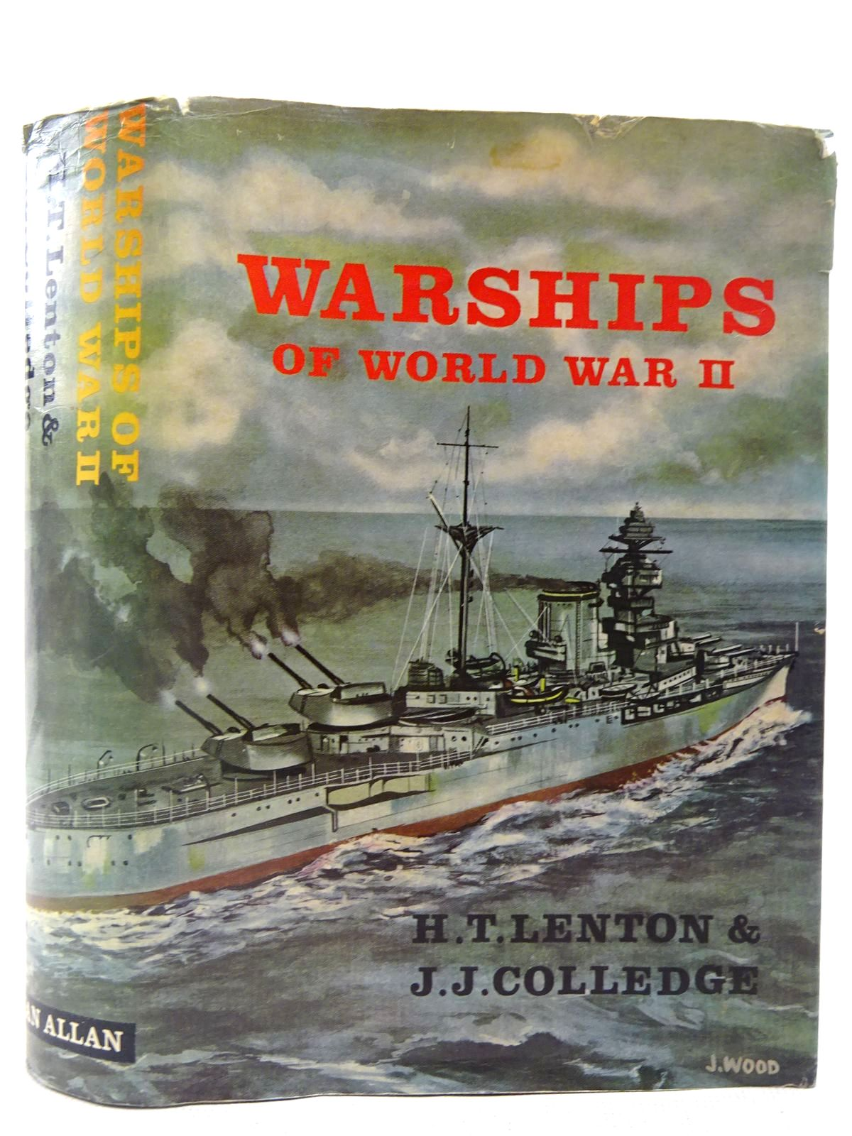 Photo of WARSHIPS OF WORLD WAR II written by Lenton, H.T.<br />Colledge, J.J. published by Ian Allan (STOCK CODE: 2127456)  for sale by Stella & Rose's Books