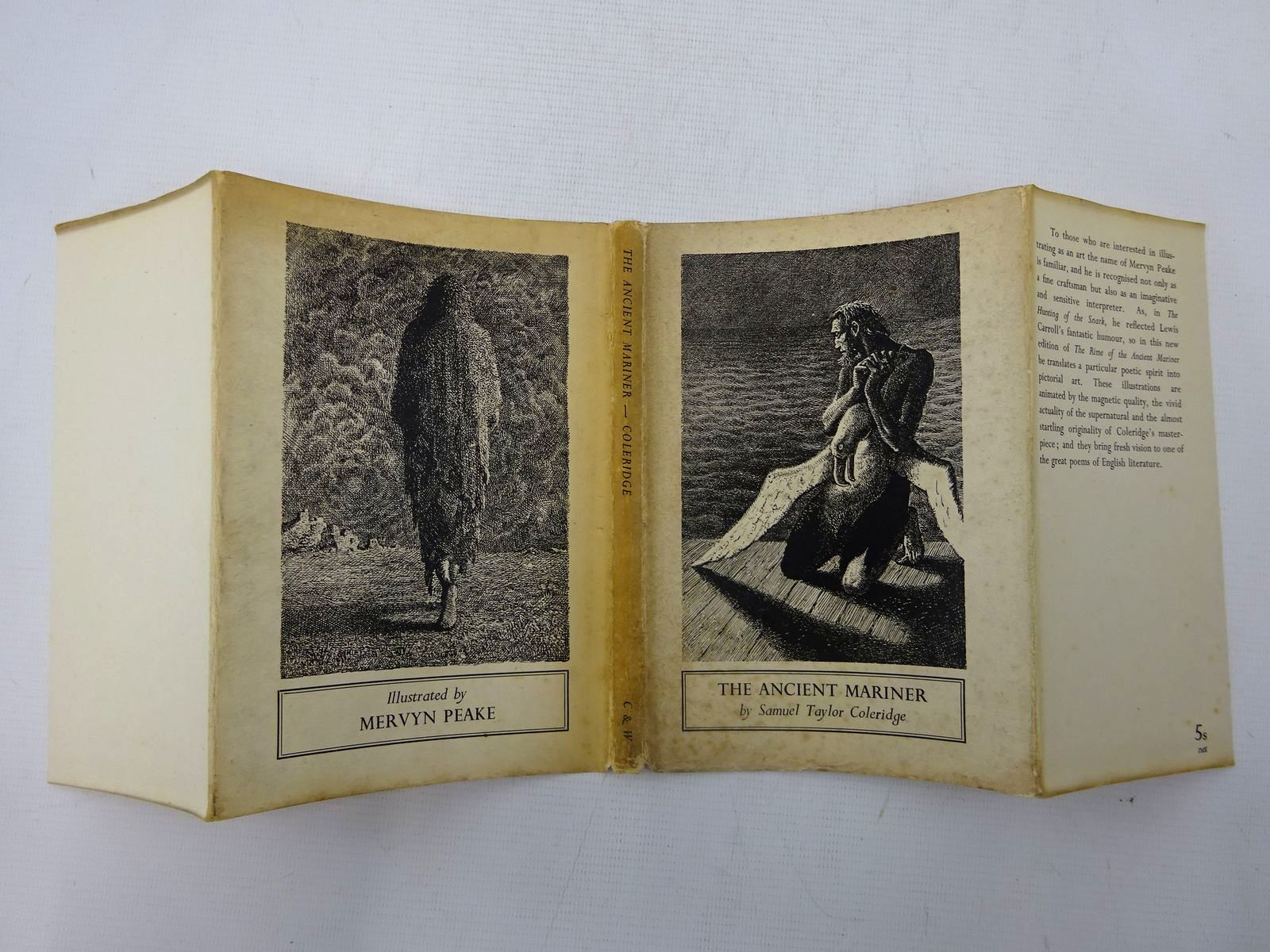 Photo of THE ANCIENT MARINER written by Coleridge, Samuel Taylor illustrated by Peake, Mervyn published by Chatto & Windus (STOCK CODE: 2127504)  for sale by Stella & Rose's Books