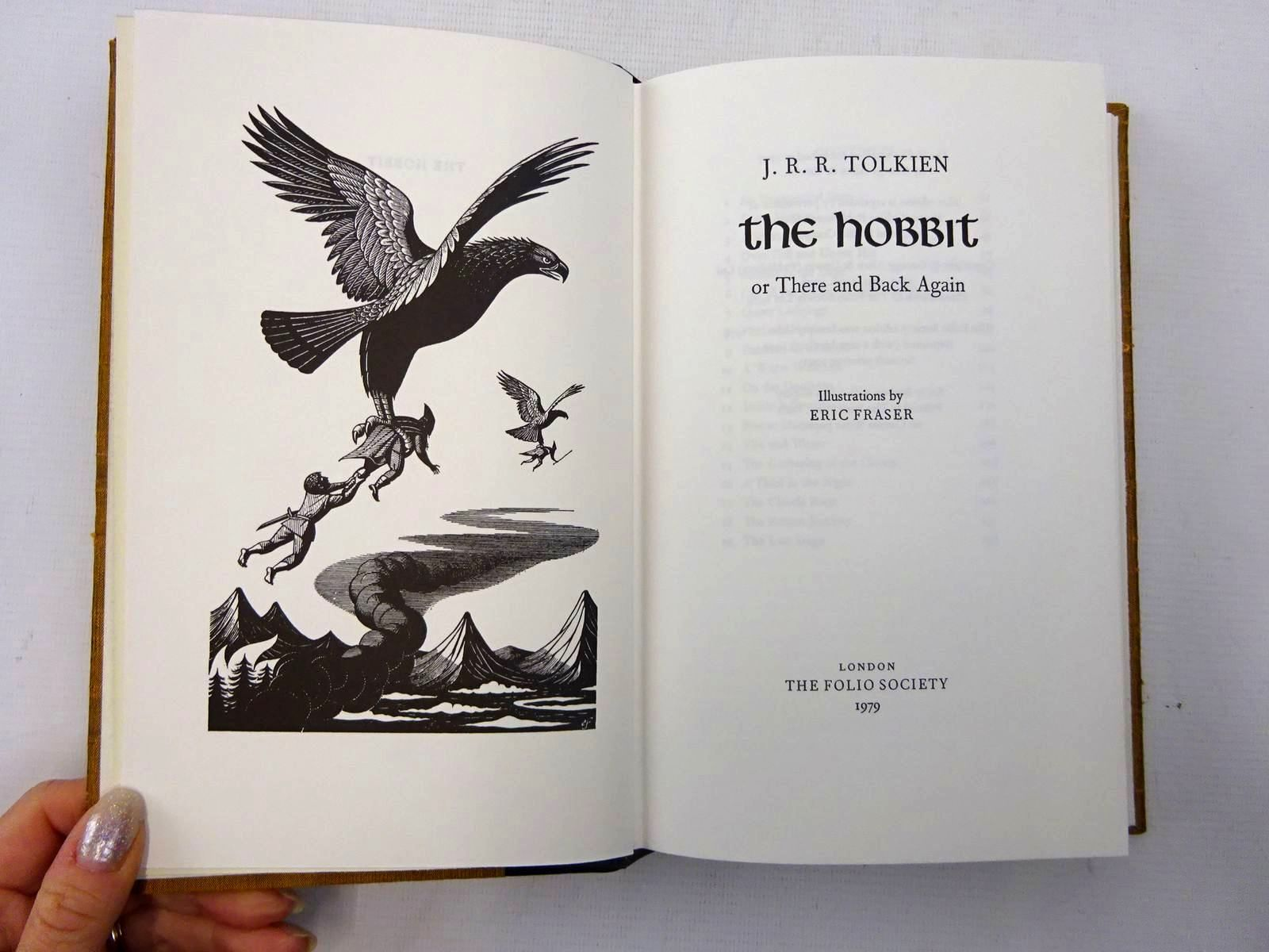 Photo of THE HOBBIT OR THERE AND BACK AGAIN written by Tolkien, J.R.R. illustrated by Fraser, Eric published by Folio Society (STOCK CODE: 2127509)  for sale by Stella & Rose's Books