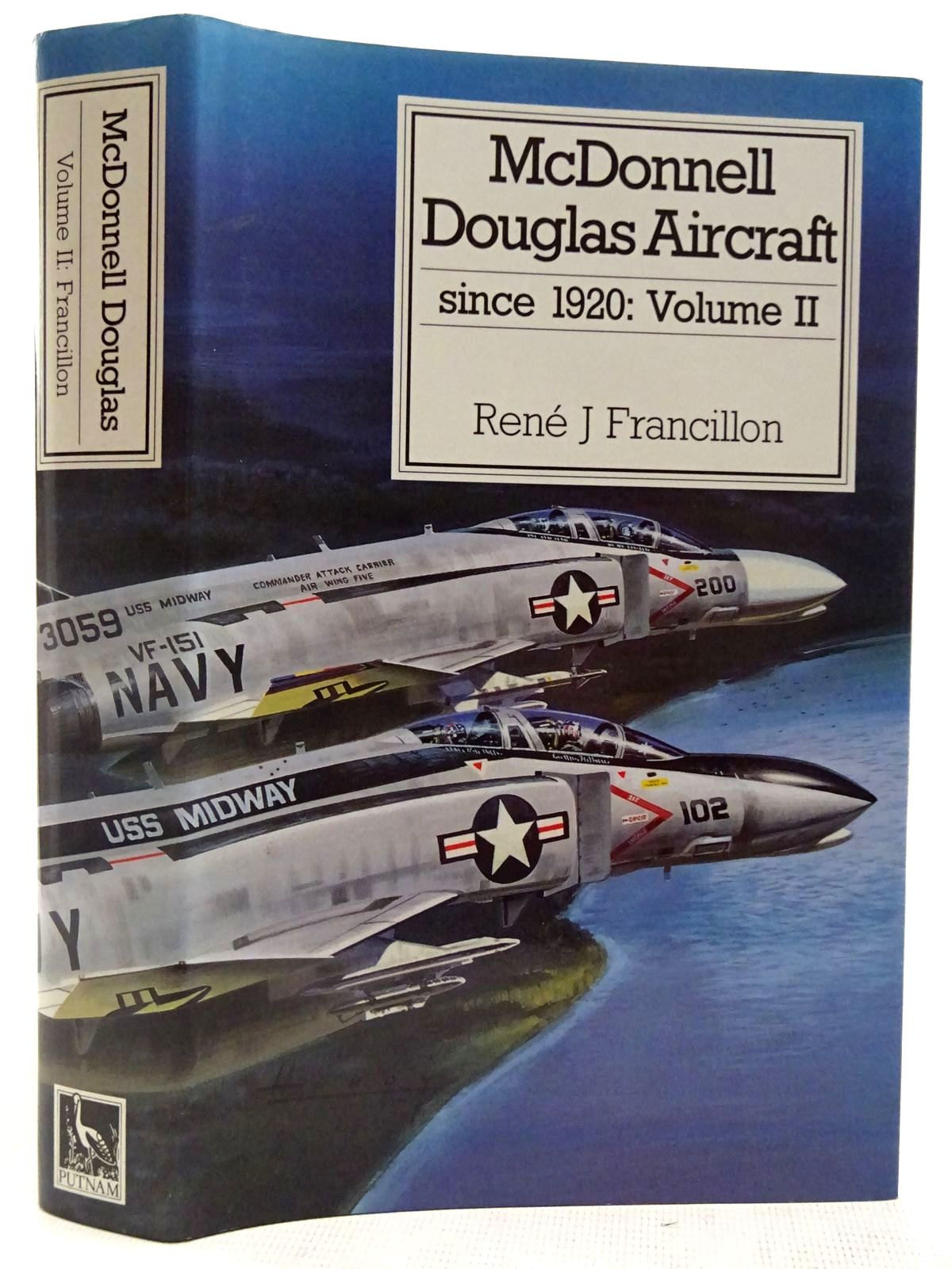 Photo of MCDONNELL DOUGLAS AIRCRAFT SINCE 1920: VOLUME II written by Francillon, Rene J. published by Putnam (STOCK CODE: 2127519)  for sale by Stella & Rose's Books