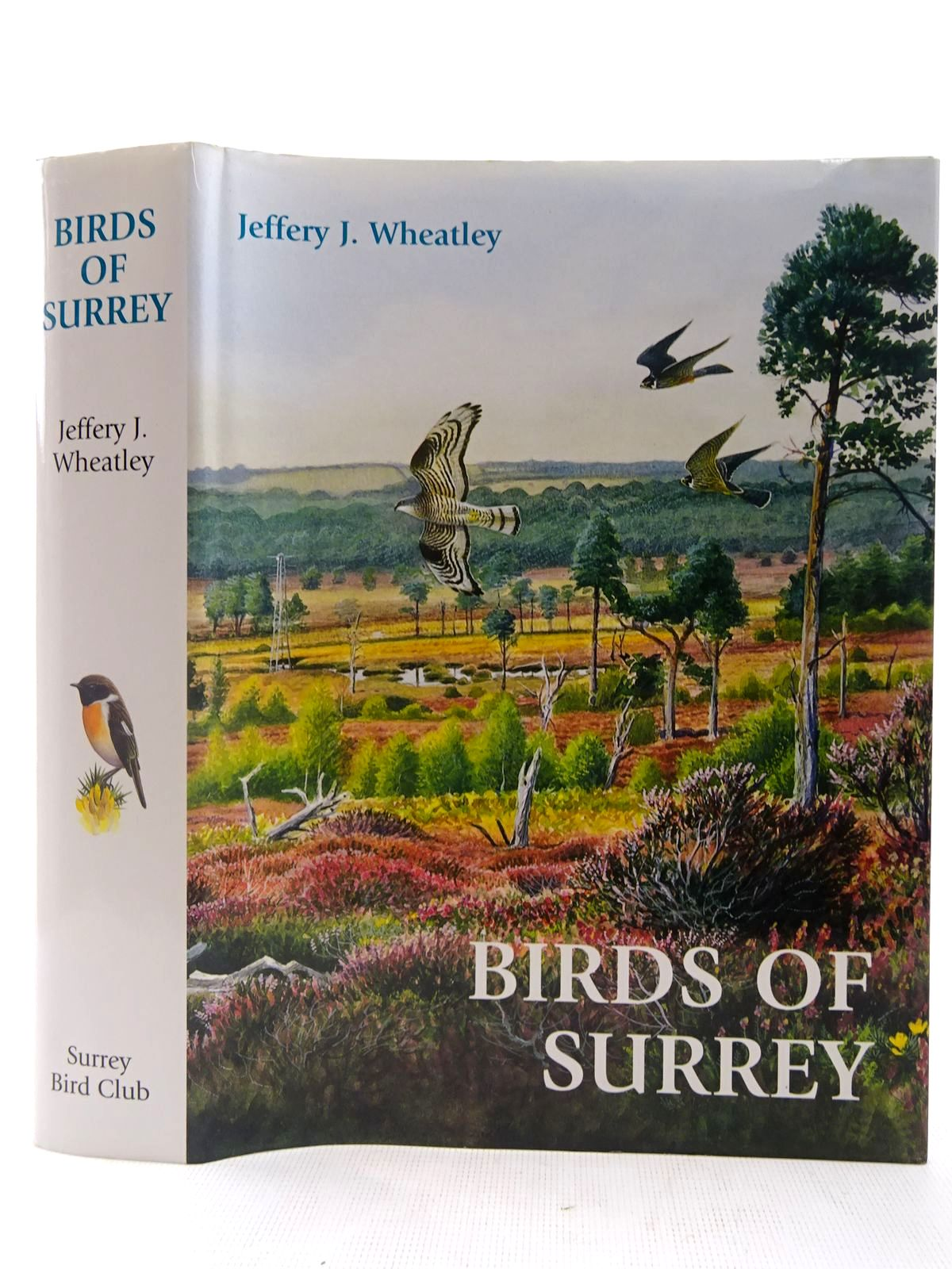 Photo of BIRDS OF SURREY written by Wheatley, Jeffery J. illustrated by Davis, John<br />et al., published by Surrey Bird Club (STOCK CODE: 2127531)  for sale by Stella & Rose's Books