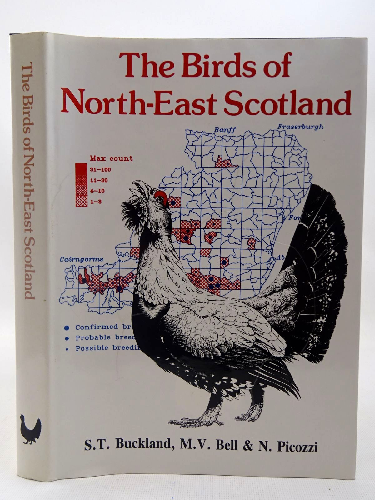 Photo of THE BIRDS OF NORTH-EAST SCOTLAND written by Buckland, S.T.<br />Bell, M.V.<br />Picozzi, N. illustrated by Brockie, Keith published by North-East Scotland Bird Club (STOCK CODE: 2127536)  for sale by Stella & Rose's Books