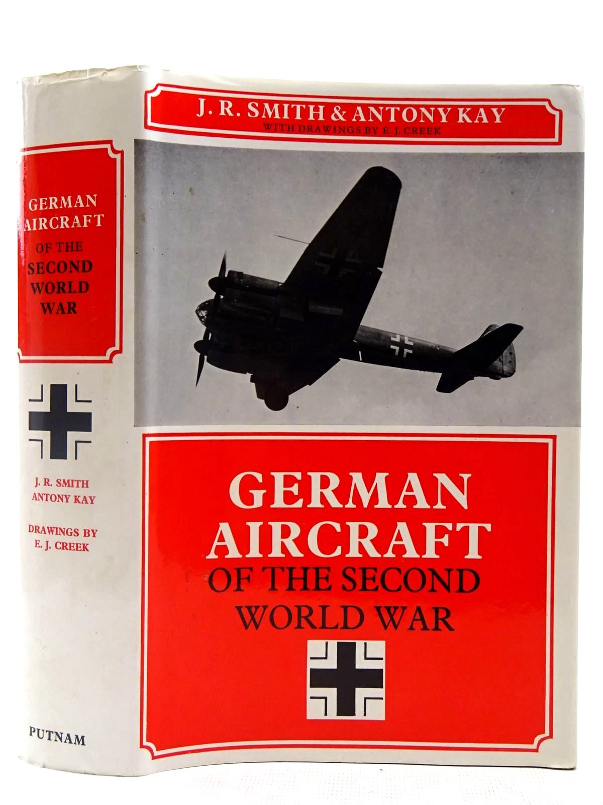 Photo of GERMAN AIRCRAFT OF THE SECOND WORLD WAR written by Smith, J.R.<br />Kay, Antony L. published by Putnam (STOCK CODE: 2127554)  for sale by Stella & Rose's Books