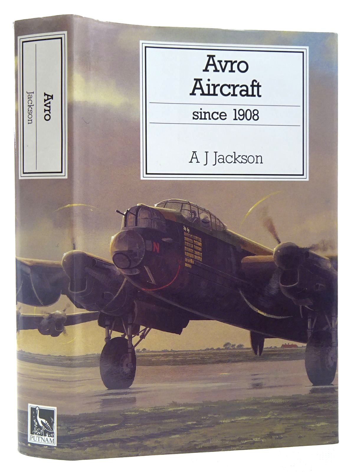 Photo of AVRO AIRCRAFT SINCE 1908 written by Jackson, A.J.<br />Jackson, R.T. published by Putnam (STOCK CODE: 2127557)  for sale by Stella & Rose's Books