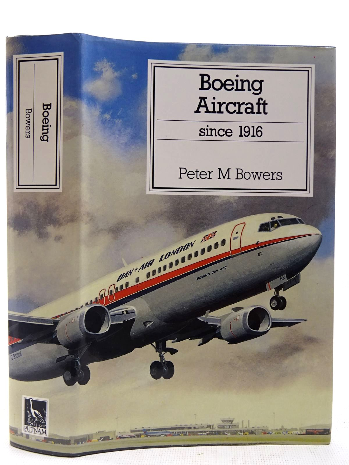 Photo of BOEING AIRCRAFT SINCE 1916 written by Bowers, Peter M. published by Putnam Aeronautical Books (STOCK CODE: 2127565)  for sale by Stella & Rose's Books