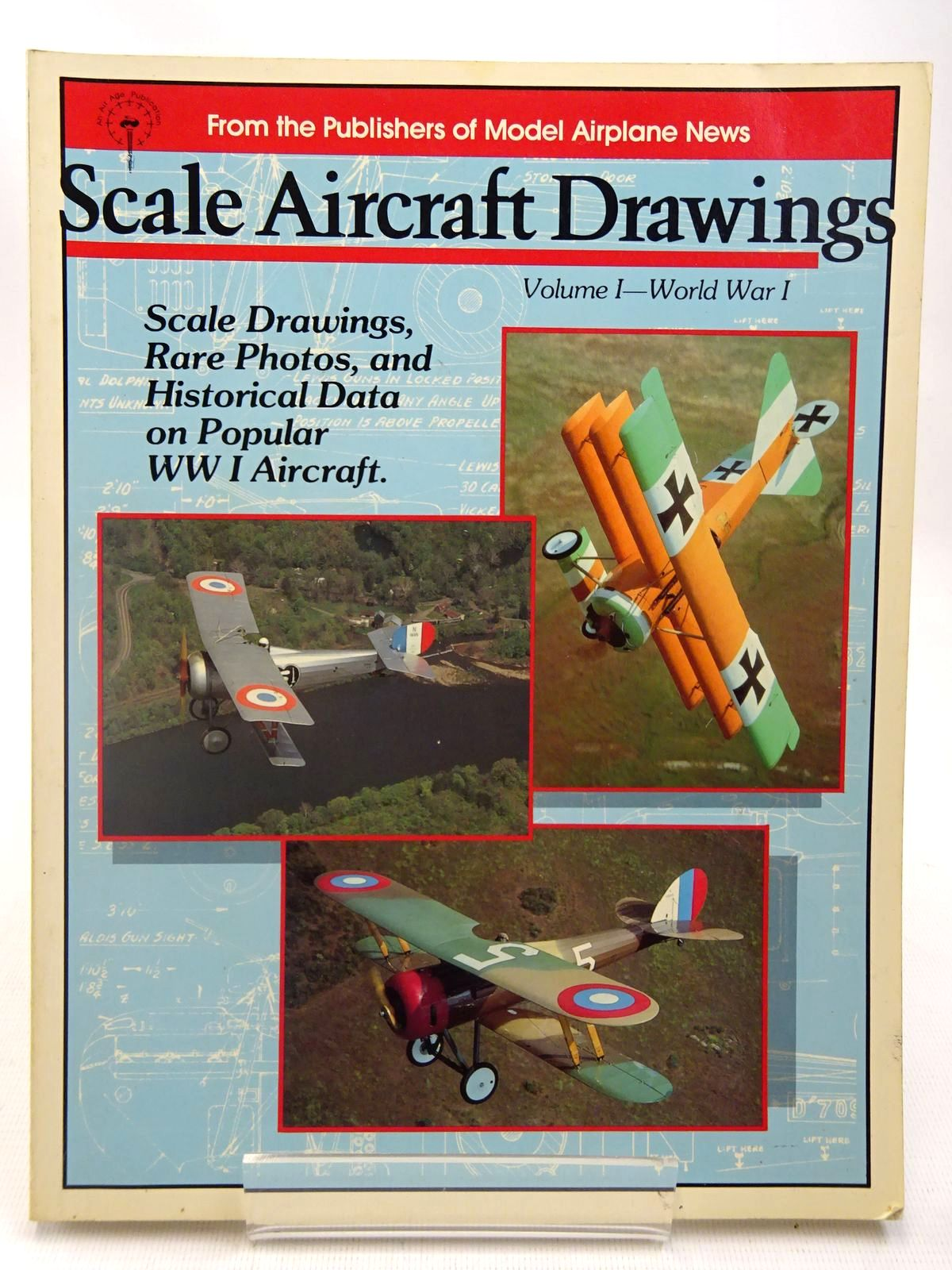 Photo of SCALE AIRCRAFT DRAWINGS VOLUME 1 - WORLD WAR I published by Air Age (STOCK CODE: 2127581)  for sale by Stella & Rose's Books