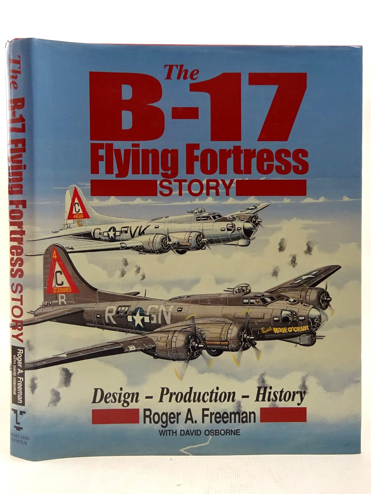Photo of THE B-17 FLYING FORTRESS STORY written by Freeman, Roger A. published by Arms & Armour Press (STOCK CODE: 2127584)  for sale by Stella & Rose's Books