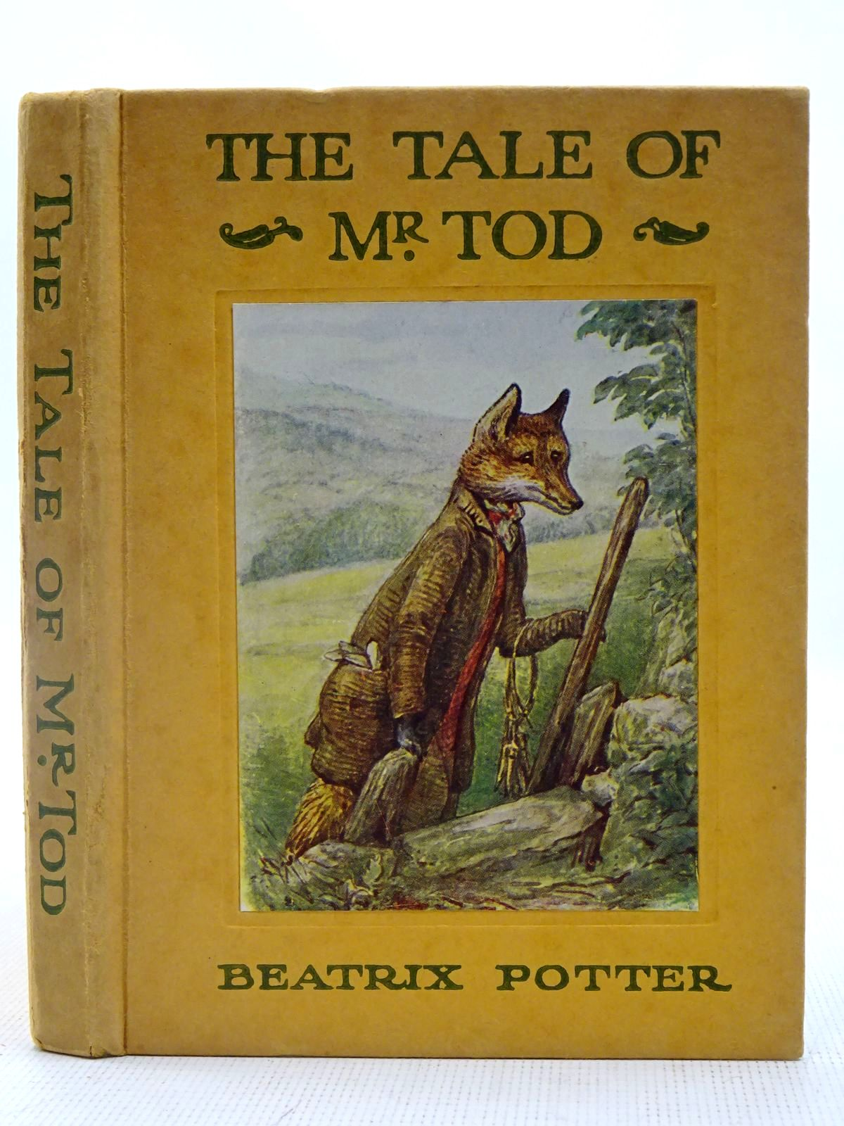 Photo of THE TALE OF MR. TOD written by Potter, Beatrix illustrated by Potter, Beatrix published by Frederick Warne & Co Ltd. (STOCK CODE: 2127638)  for sale by Stella & Rose's Books