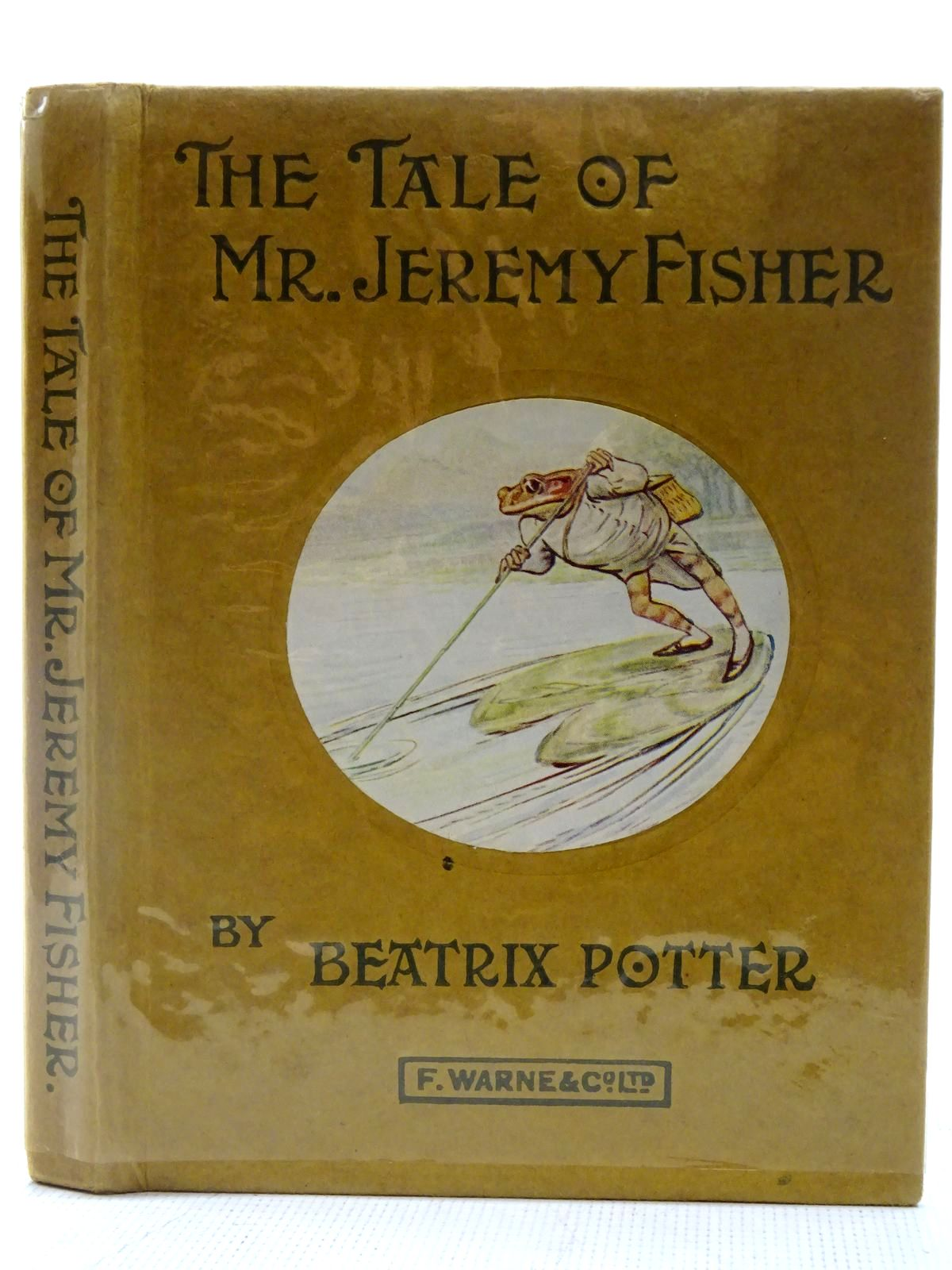 Photo of THE TALE OF MR. JEREMY FISHER written by Potter, Beatrix published by Frederick Warne & Co Ltd. (STOCK CODE: 2127647)  for sale by Stella & Rose's Books