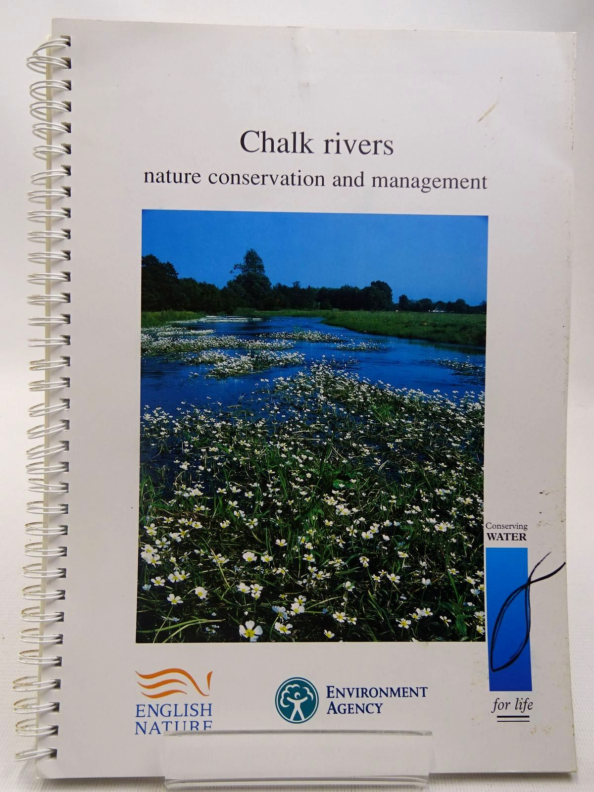 Photo of CHALK RIVERS NATURE CONSERVATION AND MANAGEMENT written by Mainstone, C.P. published by English Nature (STOCK CODE: 2127655)  for sale by Stella & Rose's Books