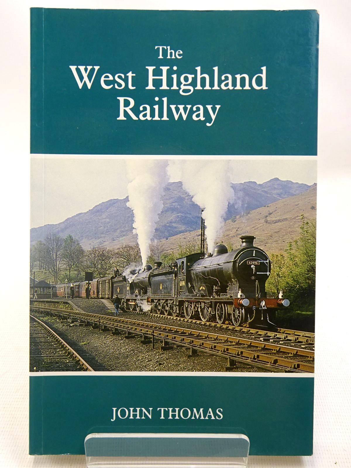 Photo of THE WEST HIGHLAND RAILWAY written by Thomas, John<br />Paterson, Alan J.S.<br />Ransom, P.J.G. published by House Of Lochar (STOCK CODE: 2127671)  for sale by Stella & Rose's Books