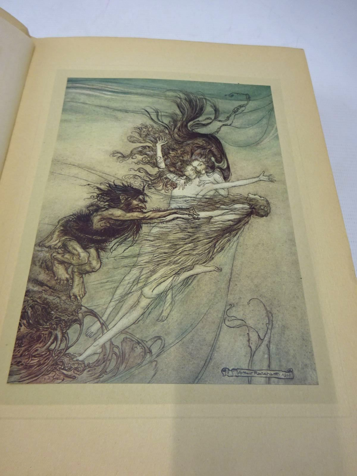 Photo of THE RHINEGOLD & THE VALKYRIE written by Wagner, Richard<br />Armour, Margaret illustrated by Rackham, Arthur published by William Heinemann (STOCK CODE: 2127691)  for sale by Stella & Rose's Books