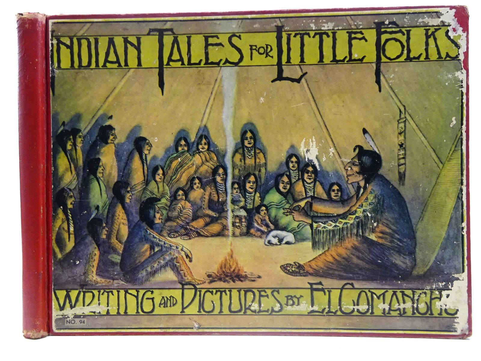 Photo of INDIAN TALES FOR LITTLE FOLKS written by Phillips, W.S.<br />Comancho, El illustrated by Phillips, W.S. published by The Platt And Munk Co. Inc. (STOCK CODE: 2127700)  for sale by Stella & Rose's Books