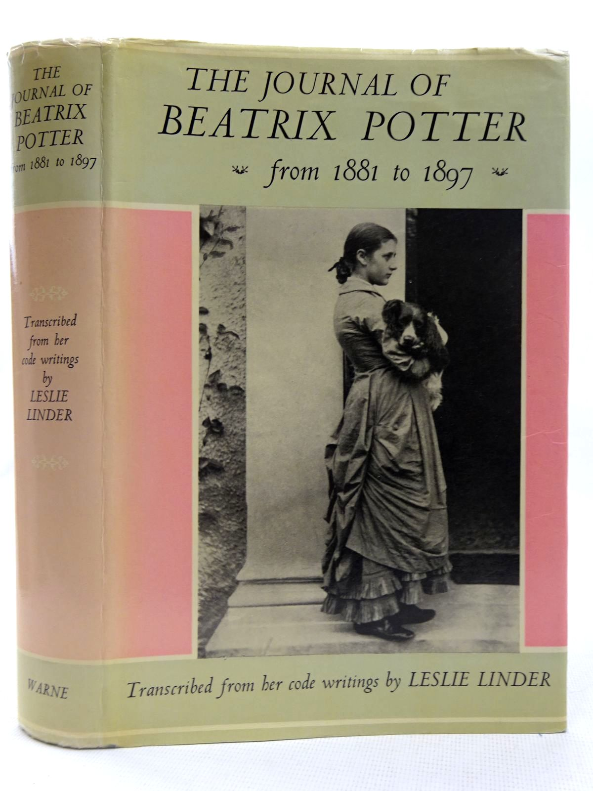 Photo of THE JOURNAL OF BEATRIX POTTER FROM 1881 TO 1897 written by Linder, Leslie<br />Potter, Beatrix illustrated by Potter, Beatrix published by Frederick Warne & Co Ltd. (STOCK CODE: 2127711)  for sale by Stella & Rose's Books