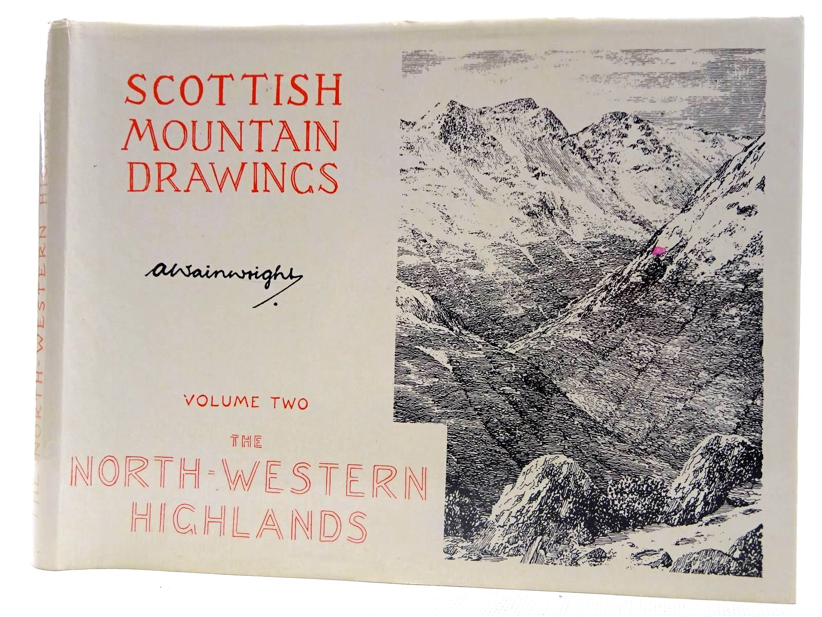 Photo of SCOTTISH MOUNTAIN DRAWINGS VOLUME TWO THE NORTH-WESTERN HIGHLANDS written by Wainwright, Alfred illustrated by Wainwright, Alfred published by Westmorland Gazette (STOCK CODE: 2127730)  for sale by Stella & Rose's Books