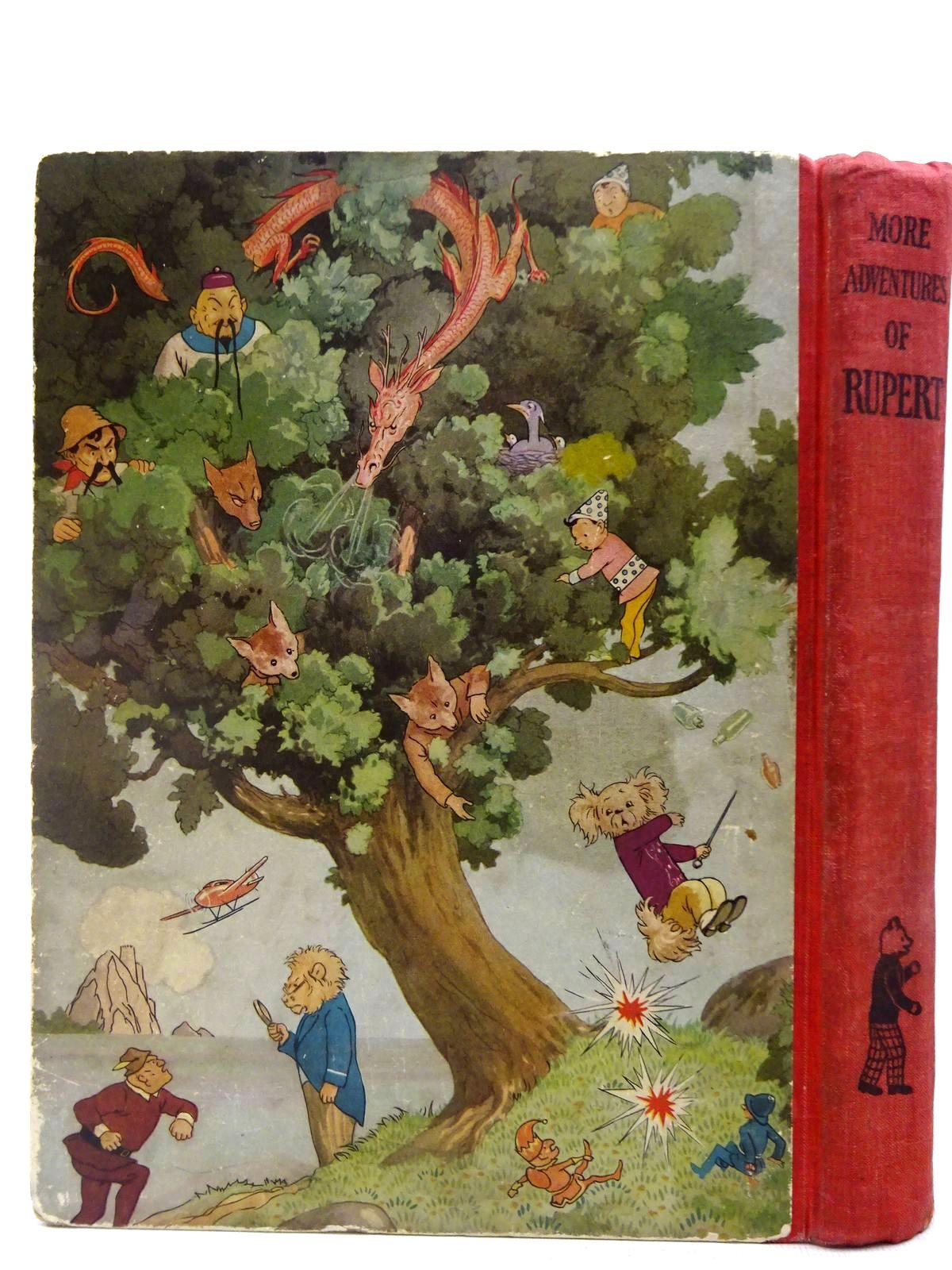 Photo of RUPERT ANNUAL 1937 - MORE ADVENTURES OF RUPERT written by Bestall, Alfred illustrated by Bestall, Alfred published by Daily Express (STOCK CODE: 2127763)  for sale by Stella & Rose's Books