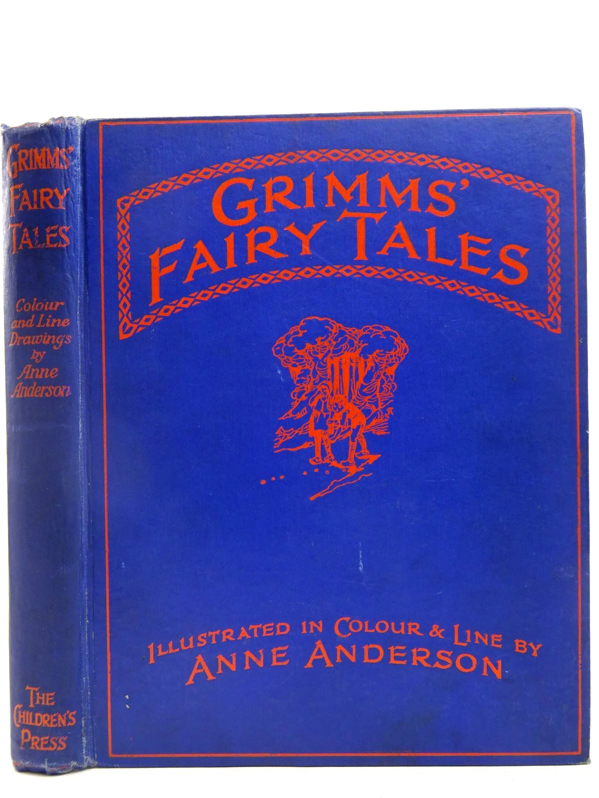 Photo of GRIMMS' FAIRY TALES written by Grimm, Brothers illustrated by Anderson, Anne published by The Children's Press (STOCK CODE: 2127779)  for sale by Stella & Rose's Books