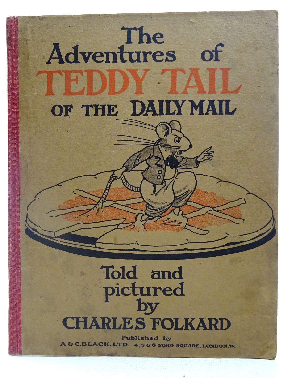 Photo of THE ADVENTURES OF TEDDY TAIL OF THE DAILY MAIL written by Folkard, Charles illustrated by Folkard, Charles published by A. & C. Black (STOCK CODE: 2127780)  for sale by Stella & Rose's Books