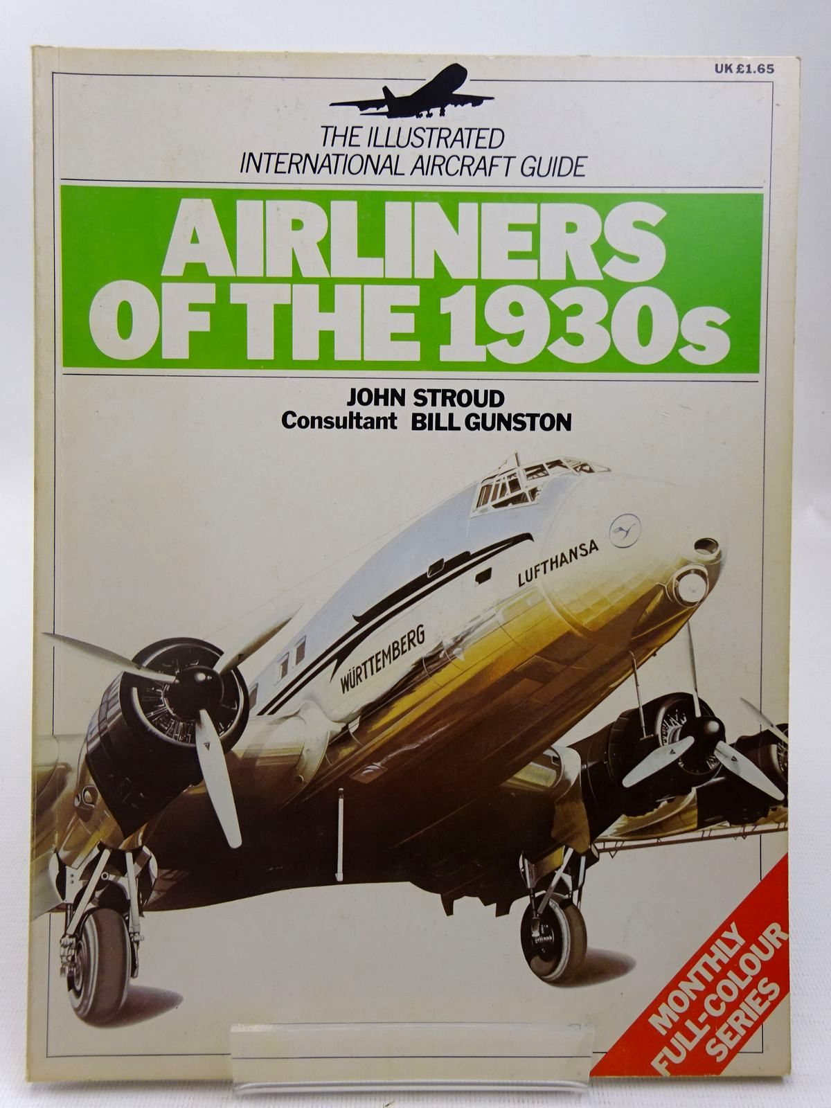 Photo of AIRLINERS OF THE 1930S written by Stroud, John<br />Gunston, Bill illustrated by Batchelor, John<br />et al., published by Phoebus (STOCK CODE: 2127798)  for sale by Stella & Rose's Books
