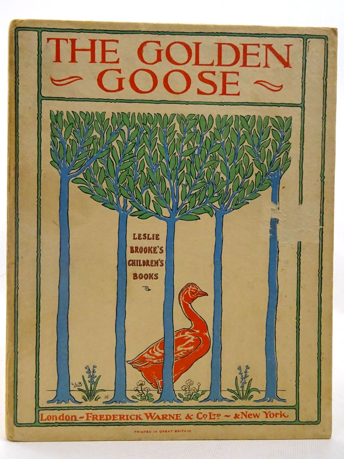 Photo of THE GOLDEN GOOSE illustrated by Brooke, L. Leslie published by Frederick Warne & Co Ltd. (STOCK CODE: 2127830)  for sale by Stella & Rose's Books