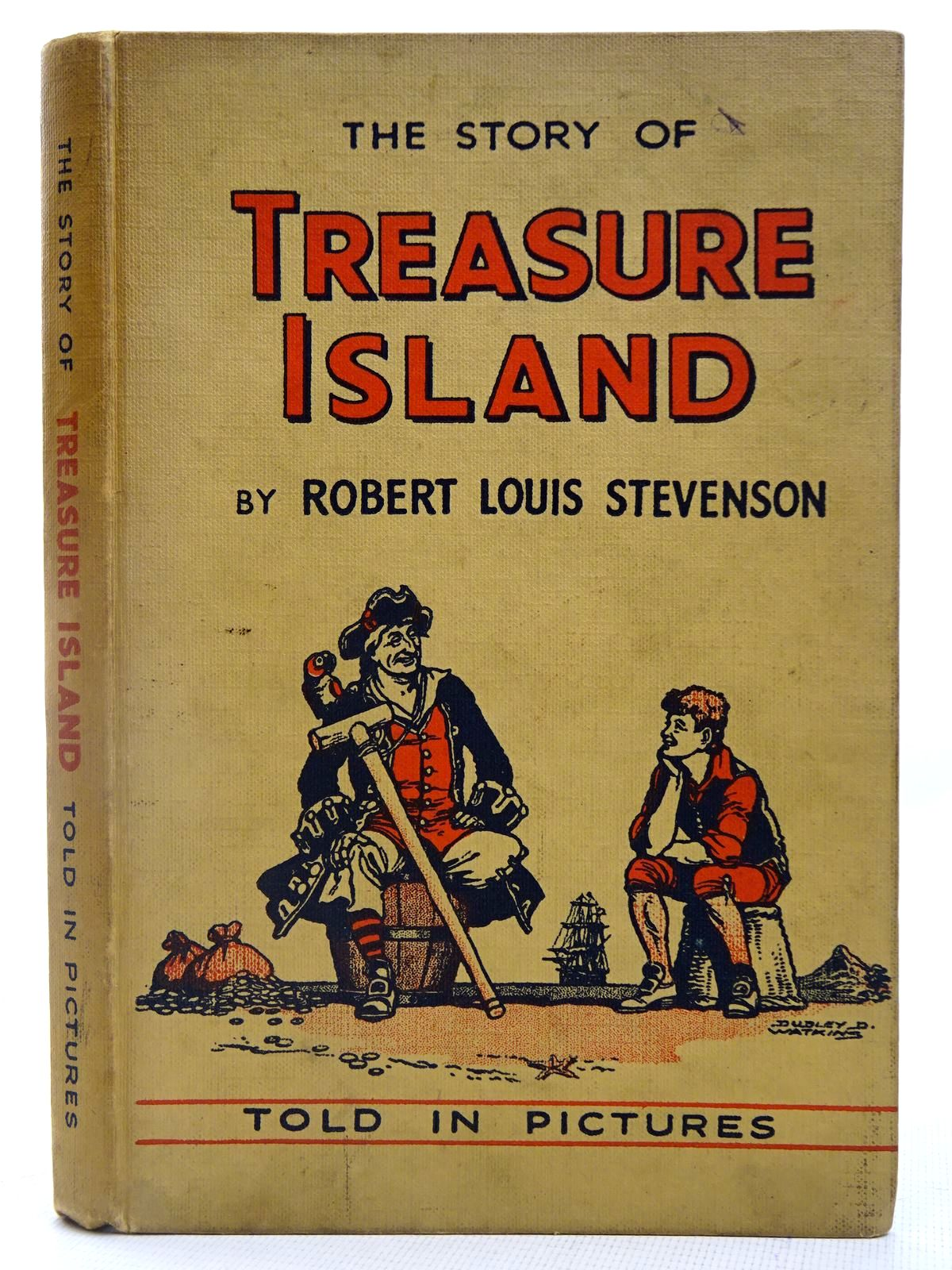 Photo of THE STORY OF TREASURE ISLAND written by Stevenson, Robert Louis illustrated by Watkins, Dudley D. published by D.C. Thomson & Co Ltd., John Leng & Co. Ltd. (STOCK CODE: 2127835)  for sale by Stella & Rose's Books