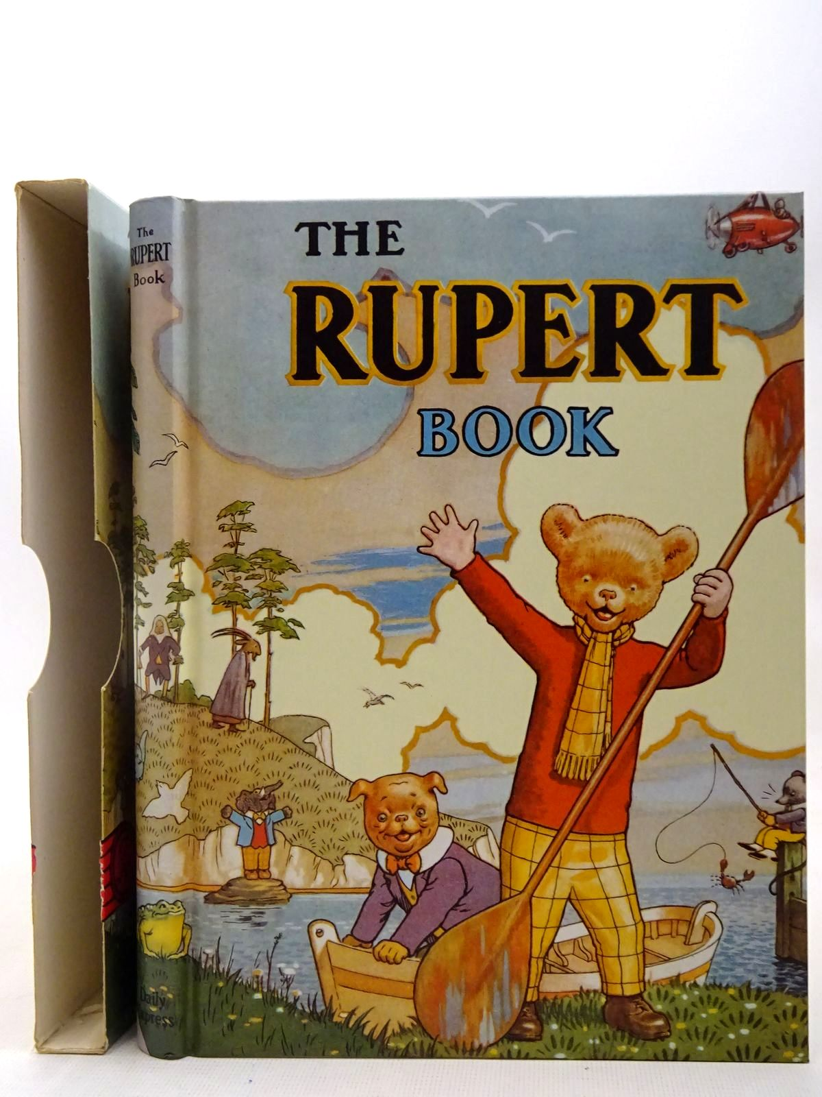 Photo of RUPERT ANNUAL 1941 (FACSIMILE) - THE RUPERT BOOK written by Bestall, Alfred illustrated by Bestall, Alfred published by Pedigree Books Limited (STOCK CODE: 2127838)  for sale by Stella & Rose's Books