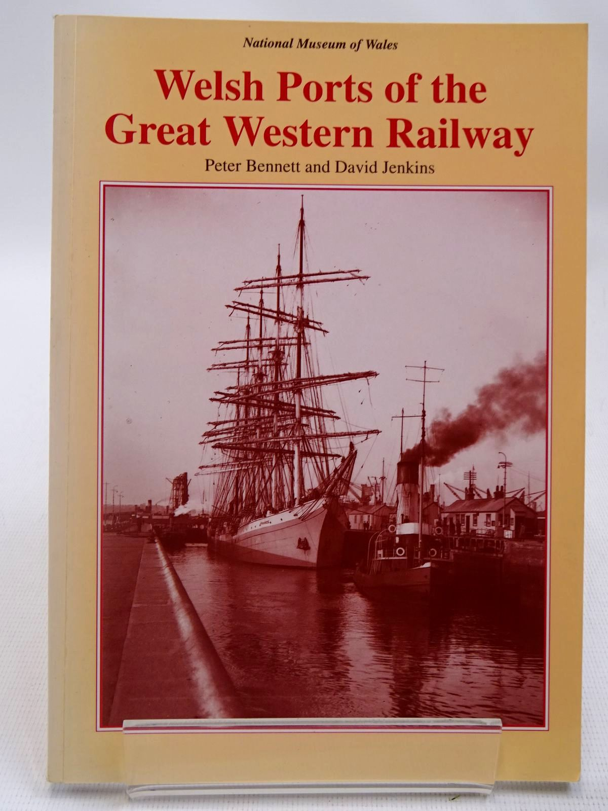 Photo of WELSH PORTS OF THE GREAT WESTERN RAILWAY written by Bennett, Peter<br />Jenkins, David published by National Museum of Wales (STOCK CODE: 2127907)  for sale by Stella & Rose's Books