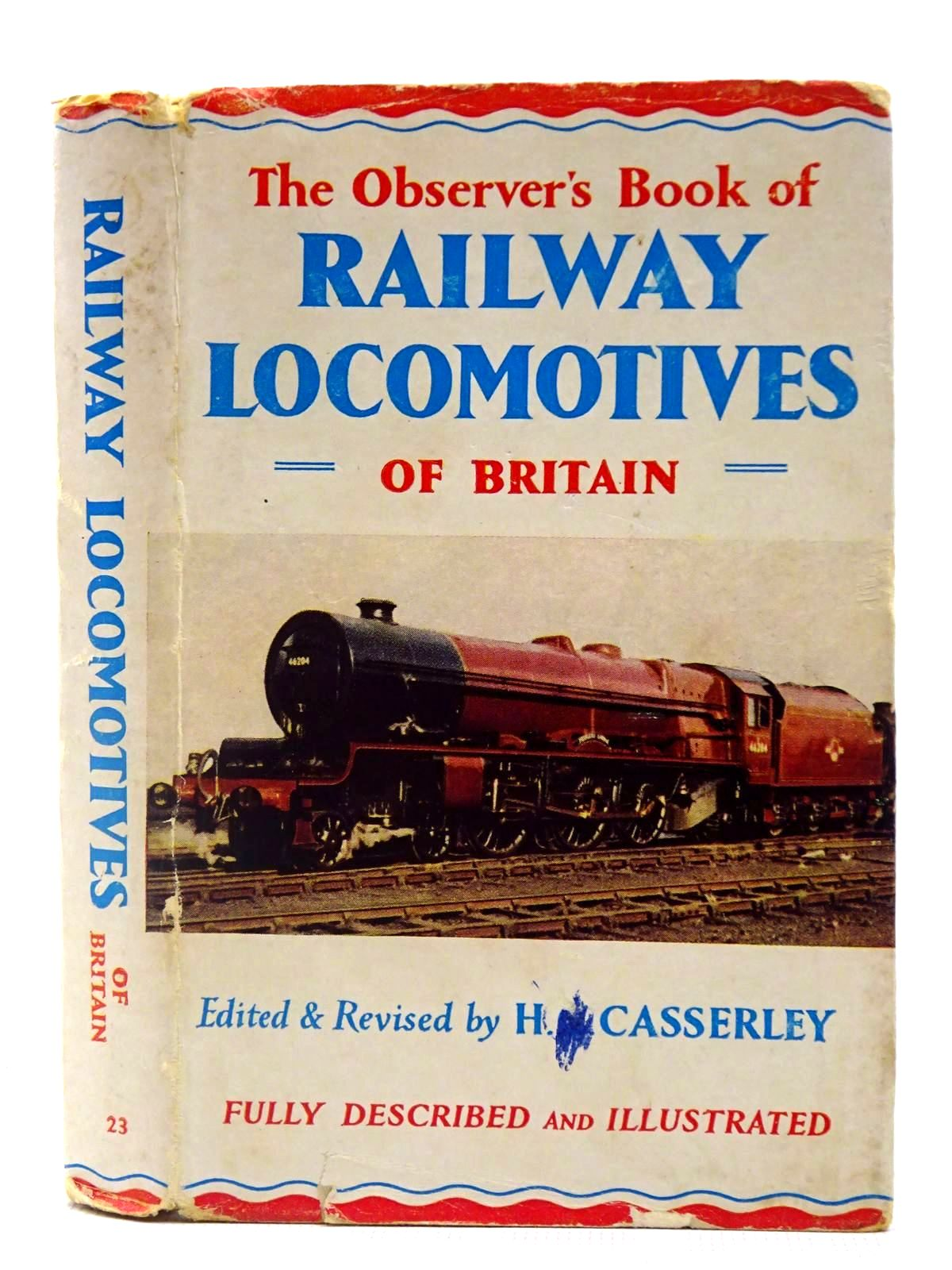 Photo of THE OBSERVER'S BOOK OF RAILWAY LOCOMOTIVES OF BRITAIN written by Casserley, H.C. published by Frederick Warne & Co Ltd. (STOCK CODE: 2127927)  for sale by Stella & Rose's Books