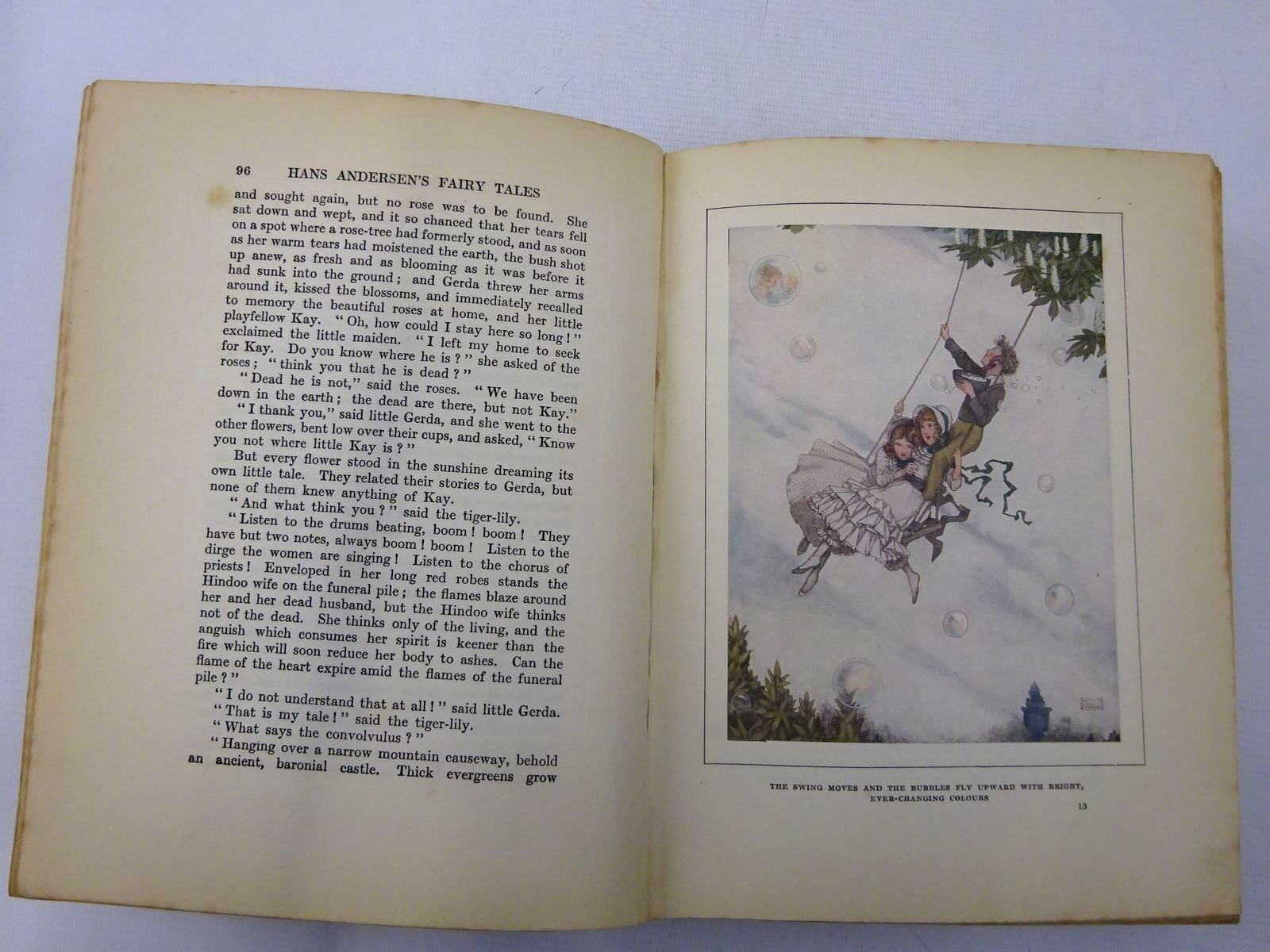 Photo of HANS ANDERSEN'S FAIRY TALES written by Andersen, Hans Christian illustrated by Robinson, W. Heath published by Hodder & Stoughton, Boots the Chemists (STOCK CODE: 2127956)  for sale by Stella & Rose's Books