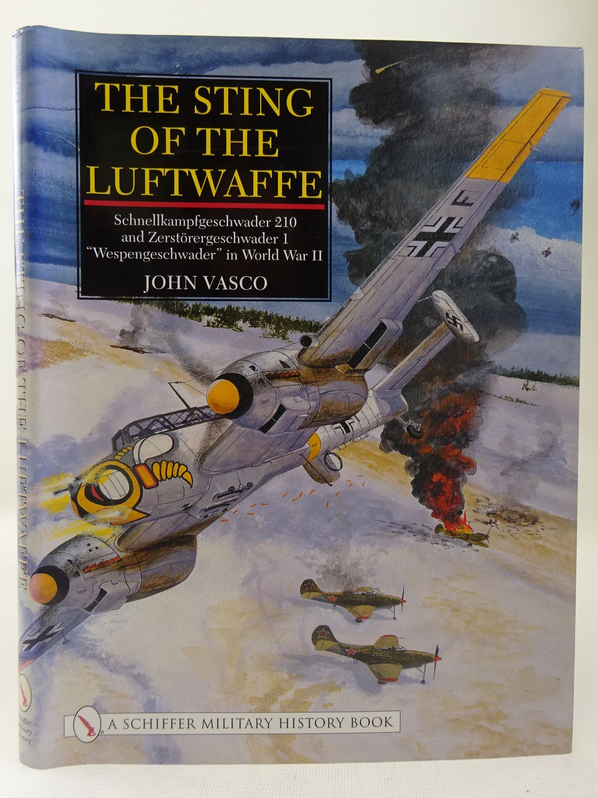 Photo of THE STING OF THE LUFTWAFFE written by Vasco, John published by Schiffer Military History (STOCK CODE: 2127975)  for sale by Stella & Rose's Books