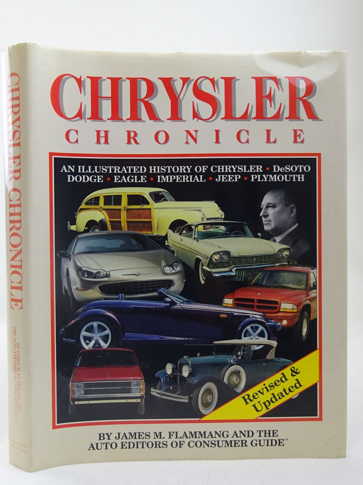 Photo of CHRYSLER CHRONICLE written by Flammang, James M.<br />et al,  published by Publications International Ltd. (STOCK CODE: 2127977)  for sale by Stella & Rose's Books